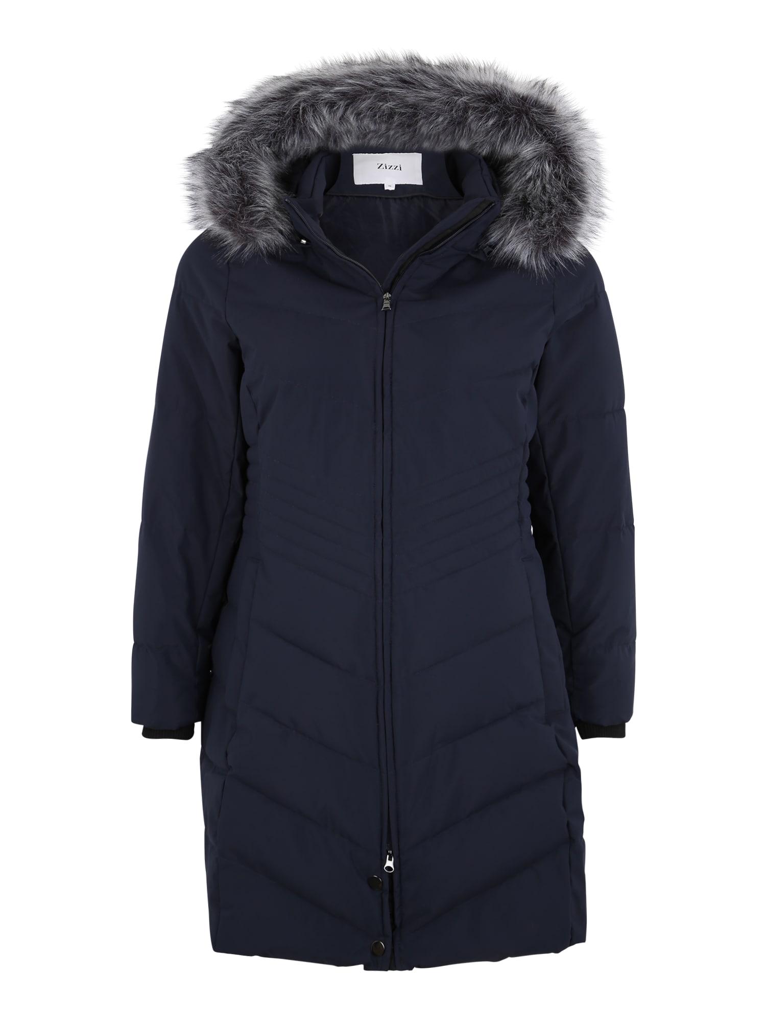 Zizzi Žieminis paltas 'MLUXA' nakties mėlyna