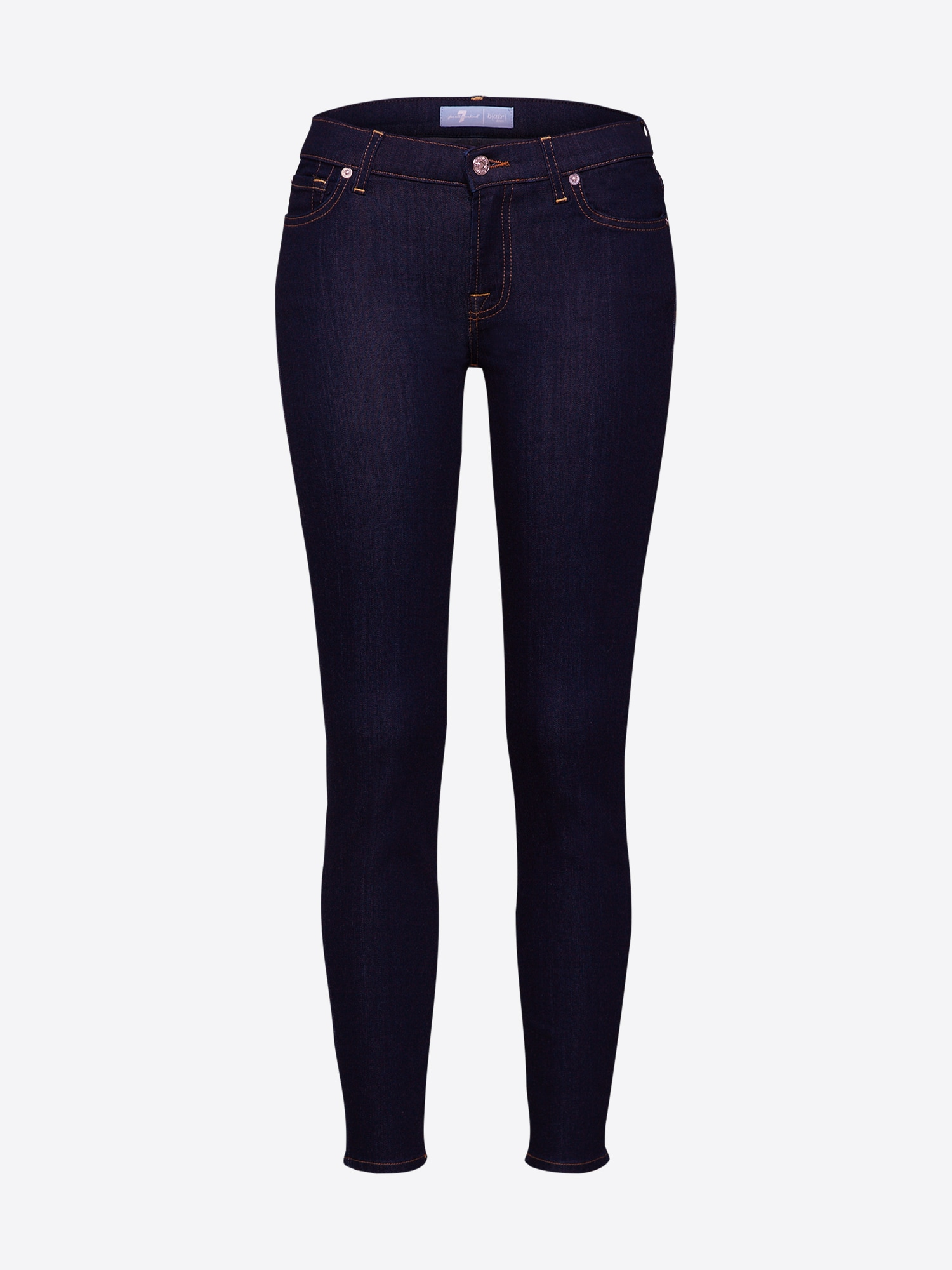 7 for all mankind Jeans 'The Skinny Crop'  blå