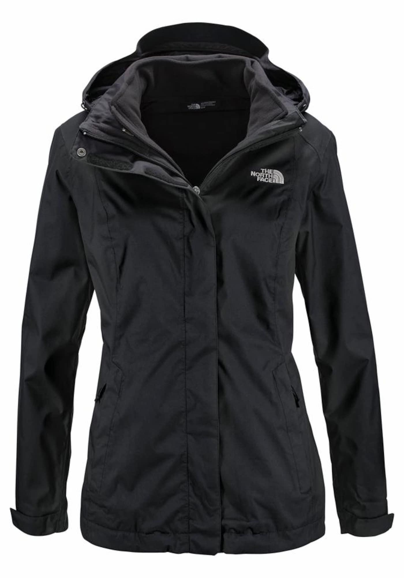 Outdoorová bunda černá THE NORTH FACE