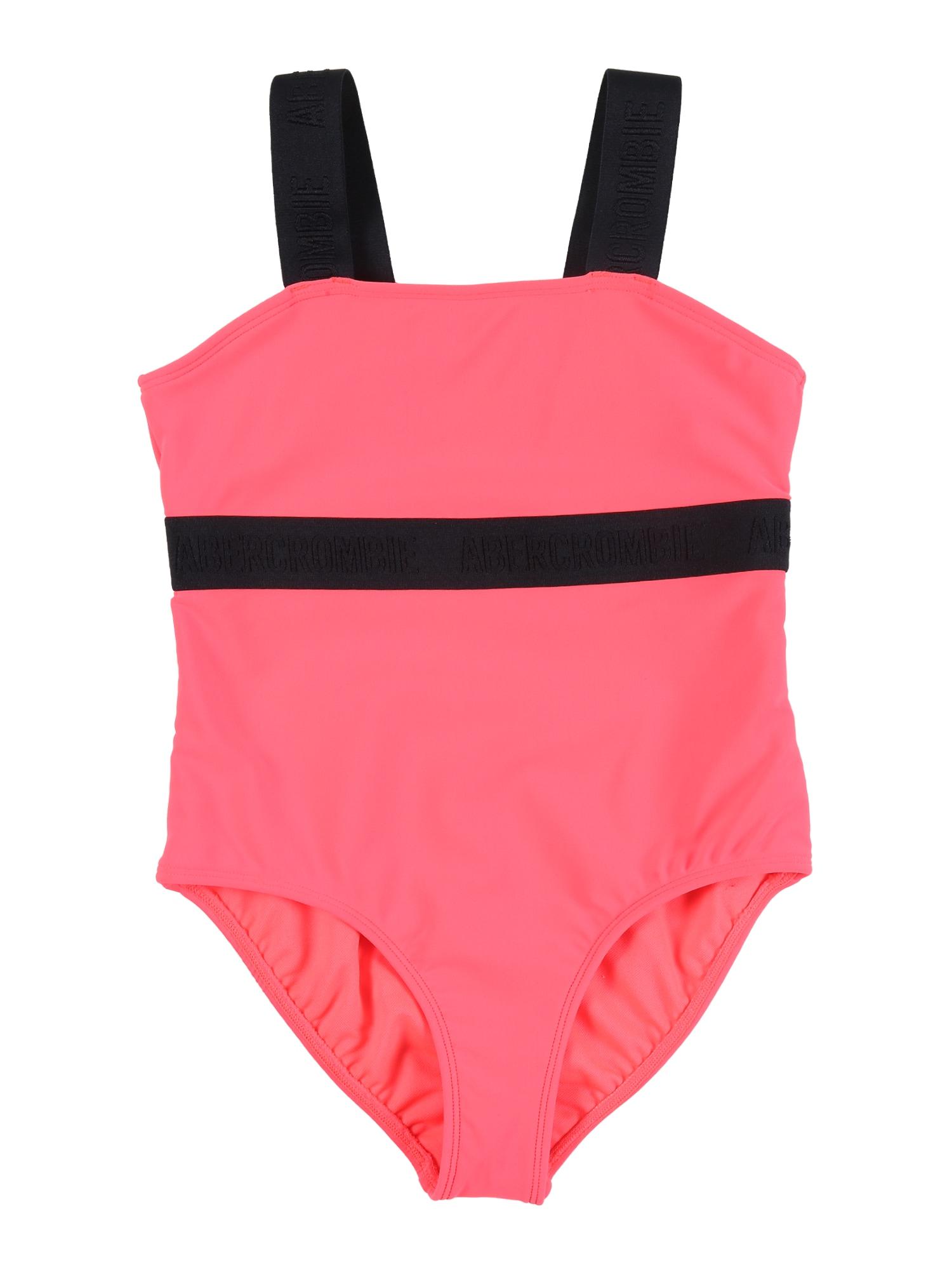 Abercrombie & Fitch Maudymosi kostiumėlis neoninė rožinė