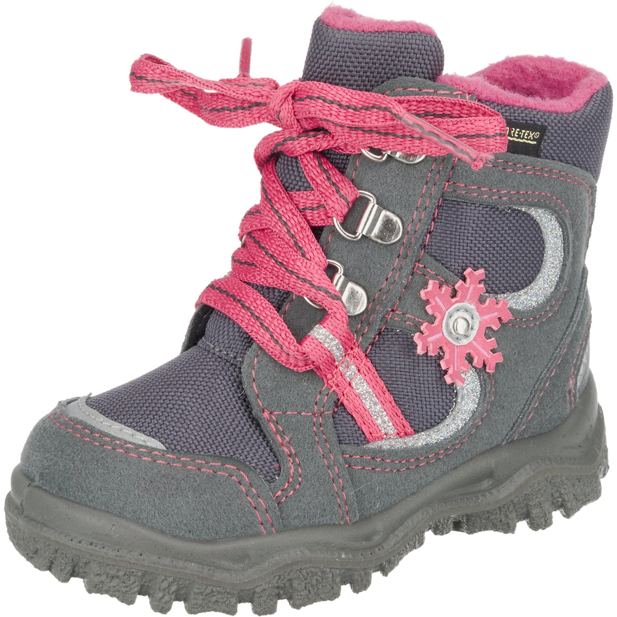 info for ff3e5 eceb3 AboutYou | Kinder SUPERFIT Winterstiefel 'Husky' grau, pink ...