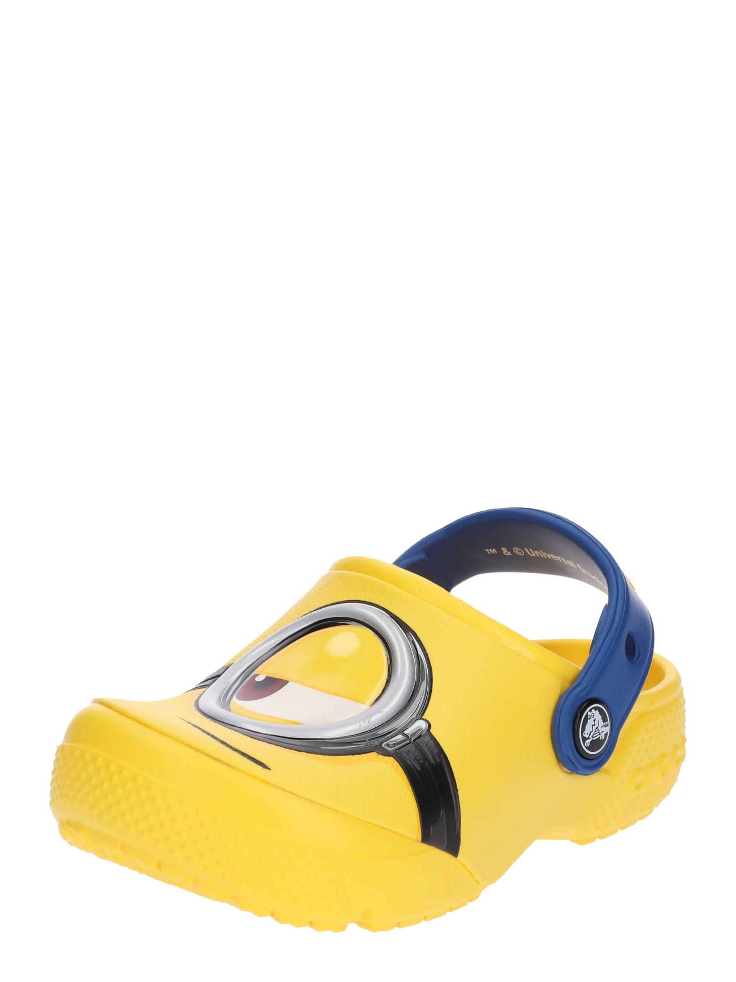 Polobotky žlutá Crocs