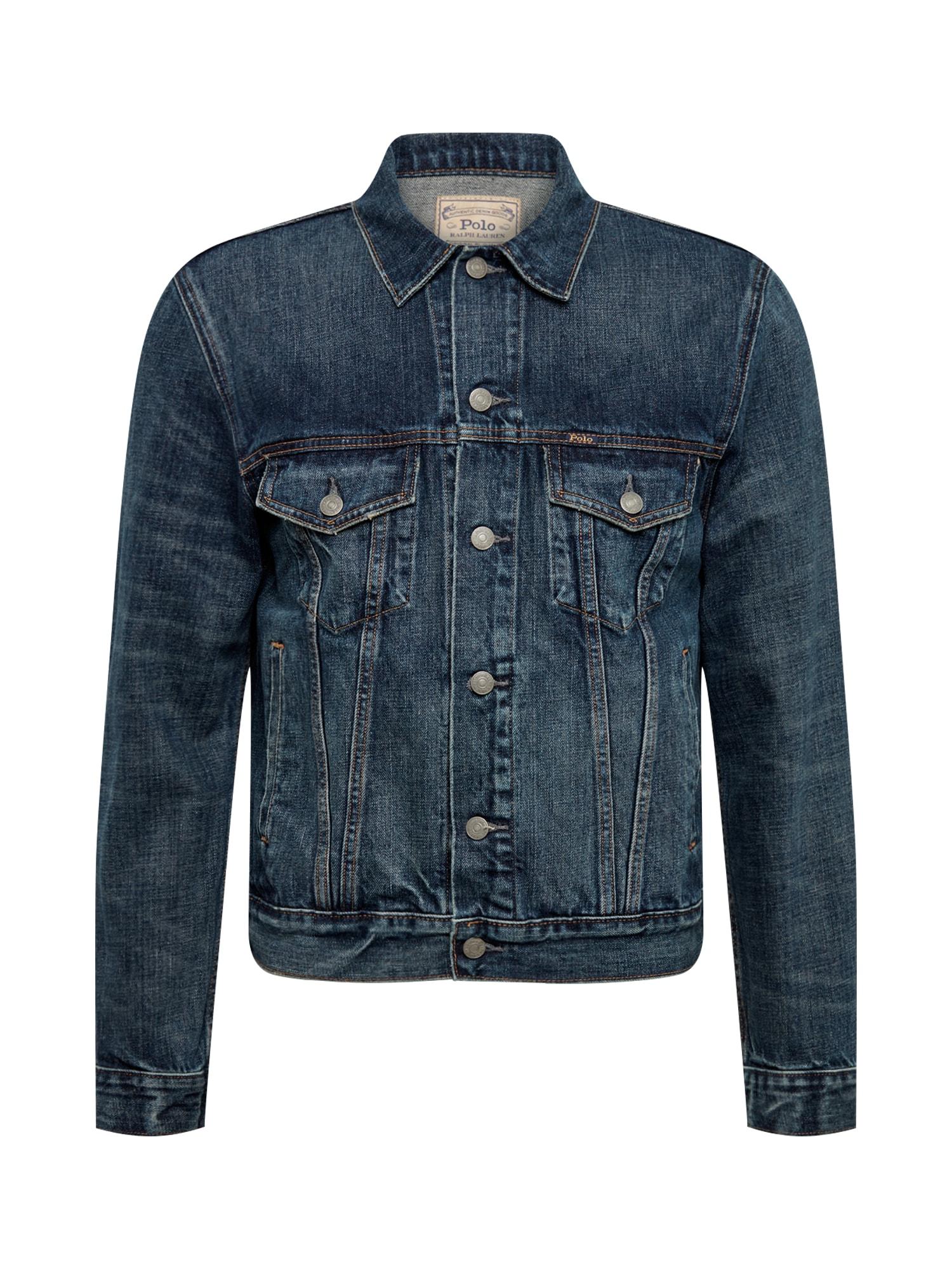 POLO RALPH LAUREN Demisezoninė striukė tamsiai (džinso) mėlyna
