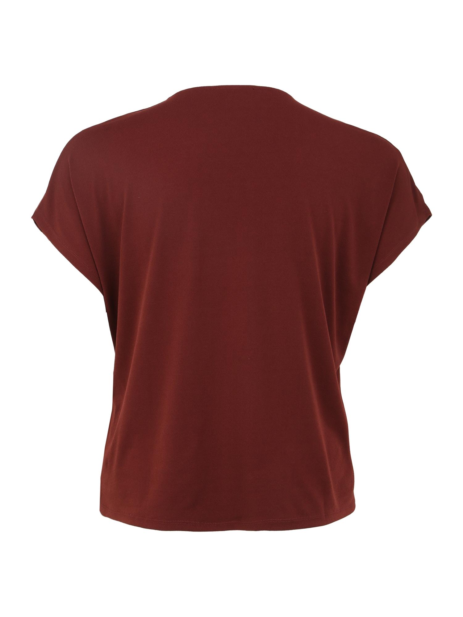 ABOUT YOU Curvy T-shirt 'Jolina'  brun