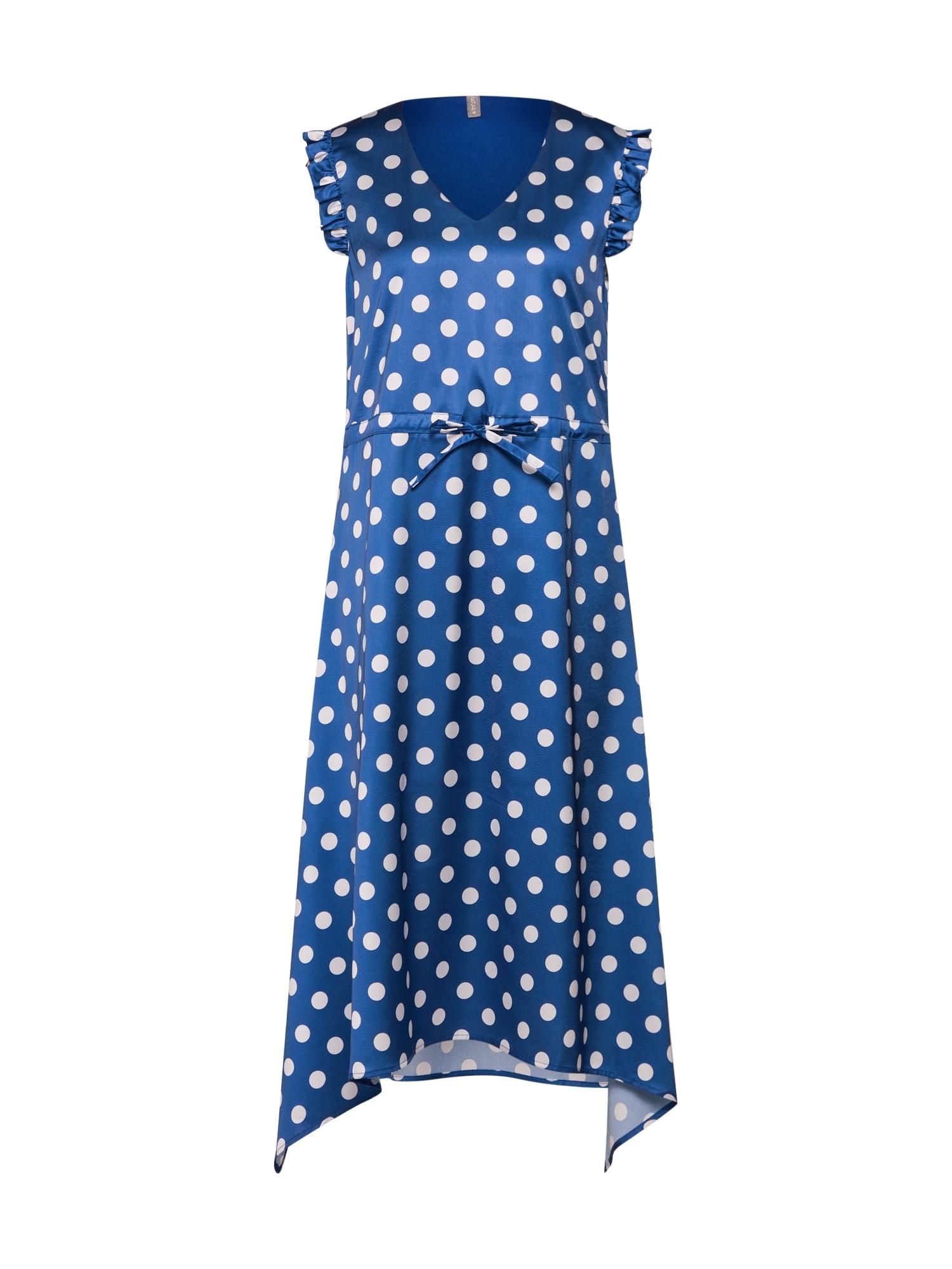 Letní šaty Anya námořnická modř mix barev CULTURE