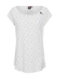 Ragwear Damen Shirt ROSANNA weiß   04251490142367