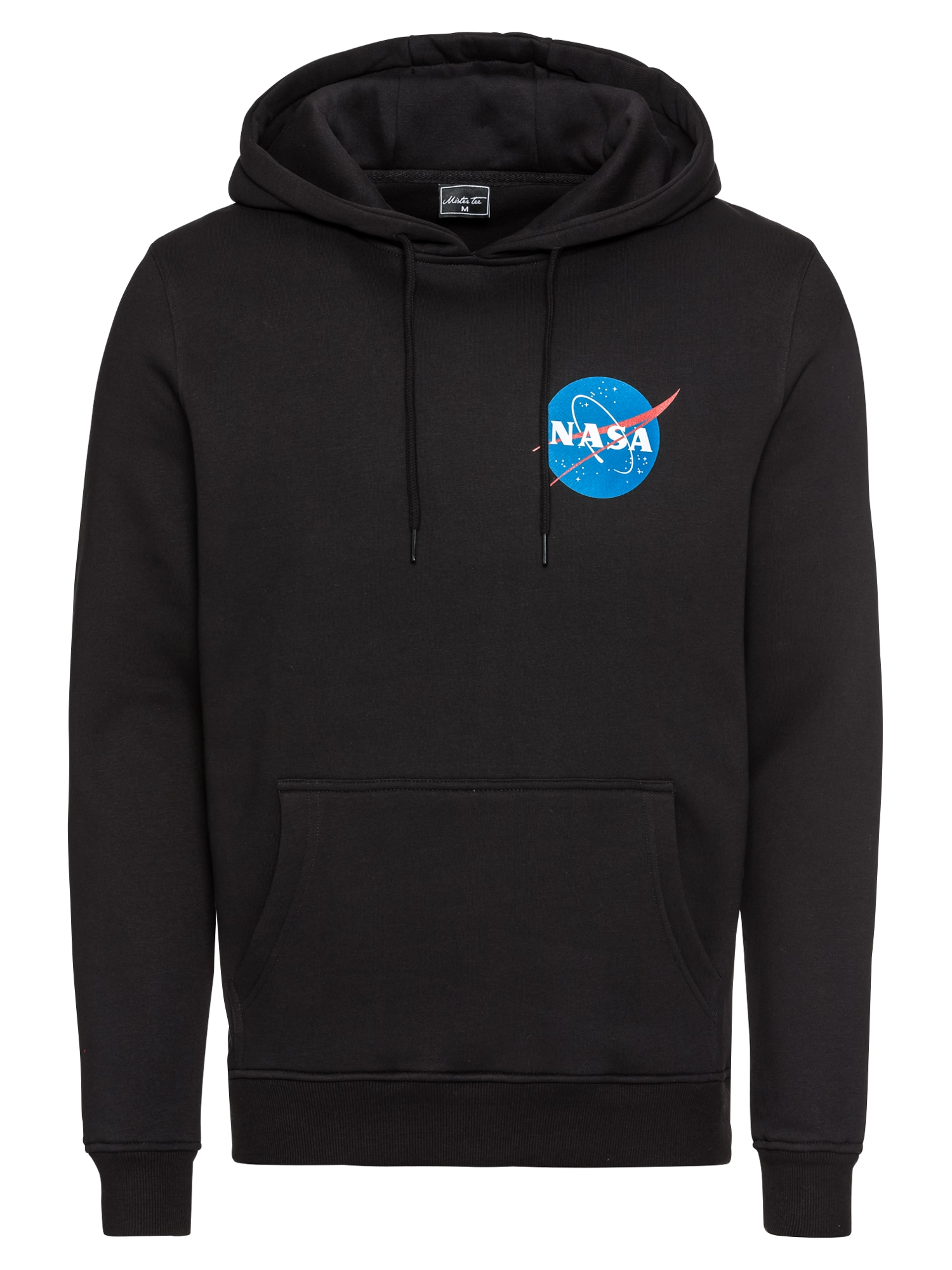 Mister Tee Bluză de molton 'NASA Small Insignia Hoody'  negru