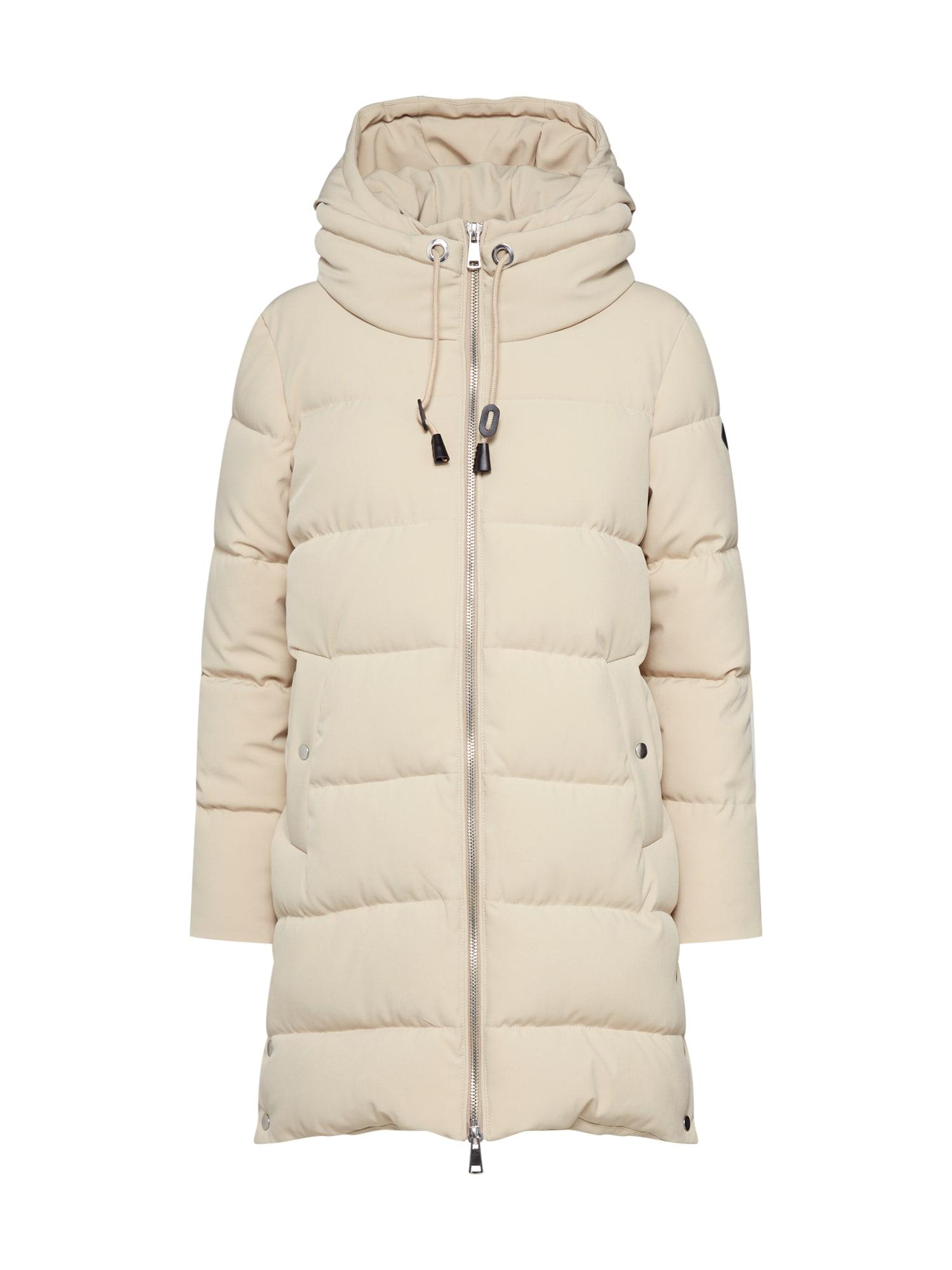 ESPRIT Žieminis paltas 'Padded Coat' smėlio