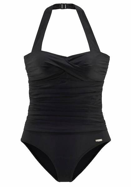 Bademode für Frauen - LASCANA Badeanzug schwarz  - Onlineshop ABOUT YOU