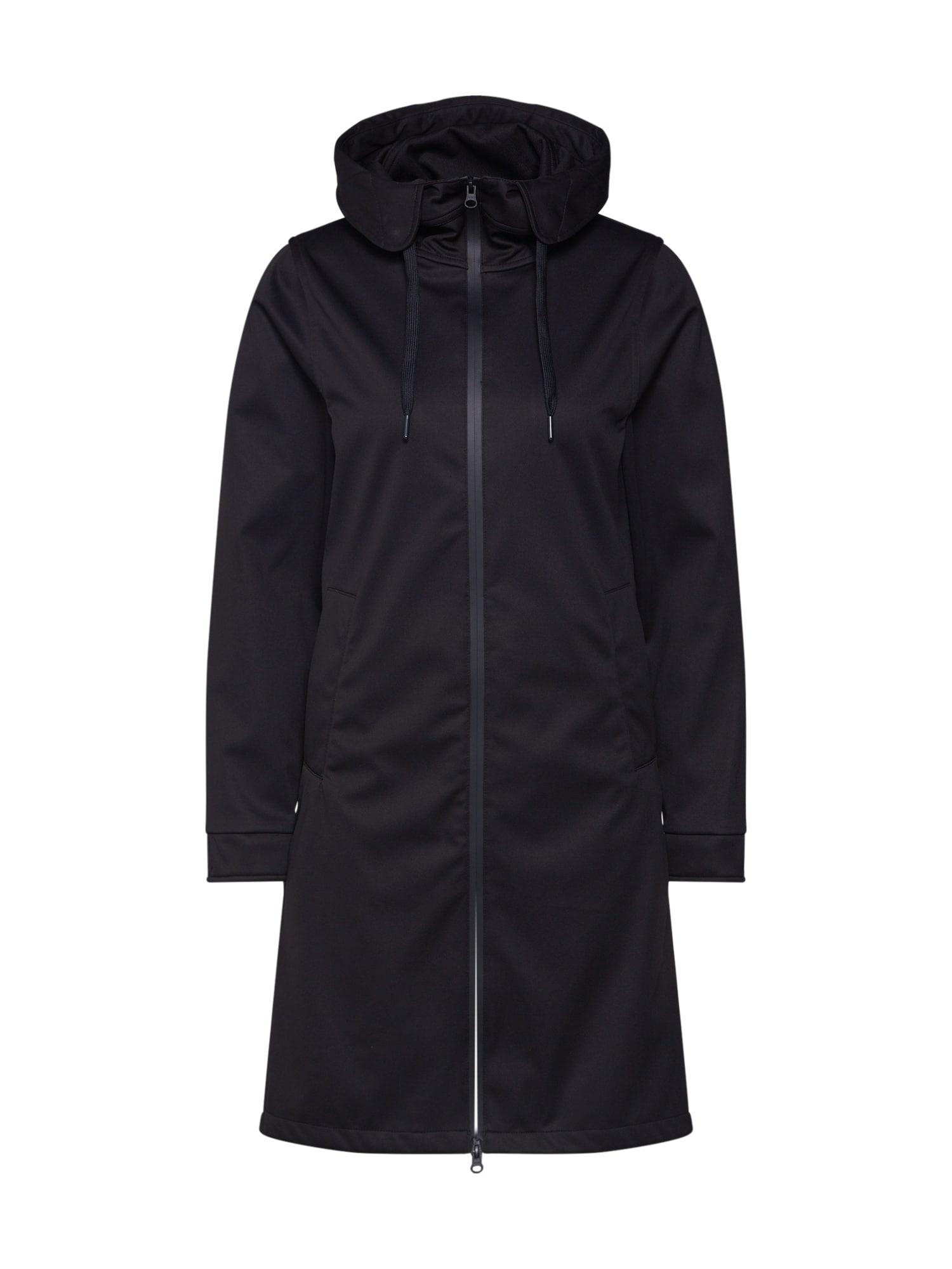 Derbe Rudeninis-žieminis paltas 'Colonsay' juoda