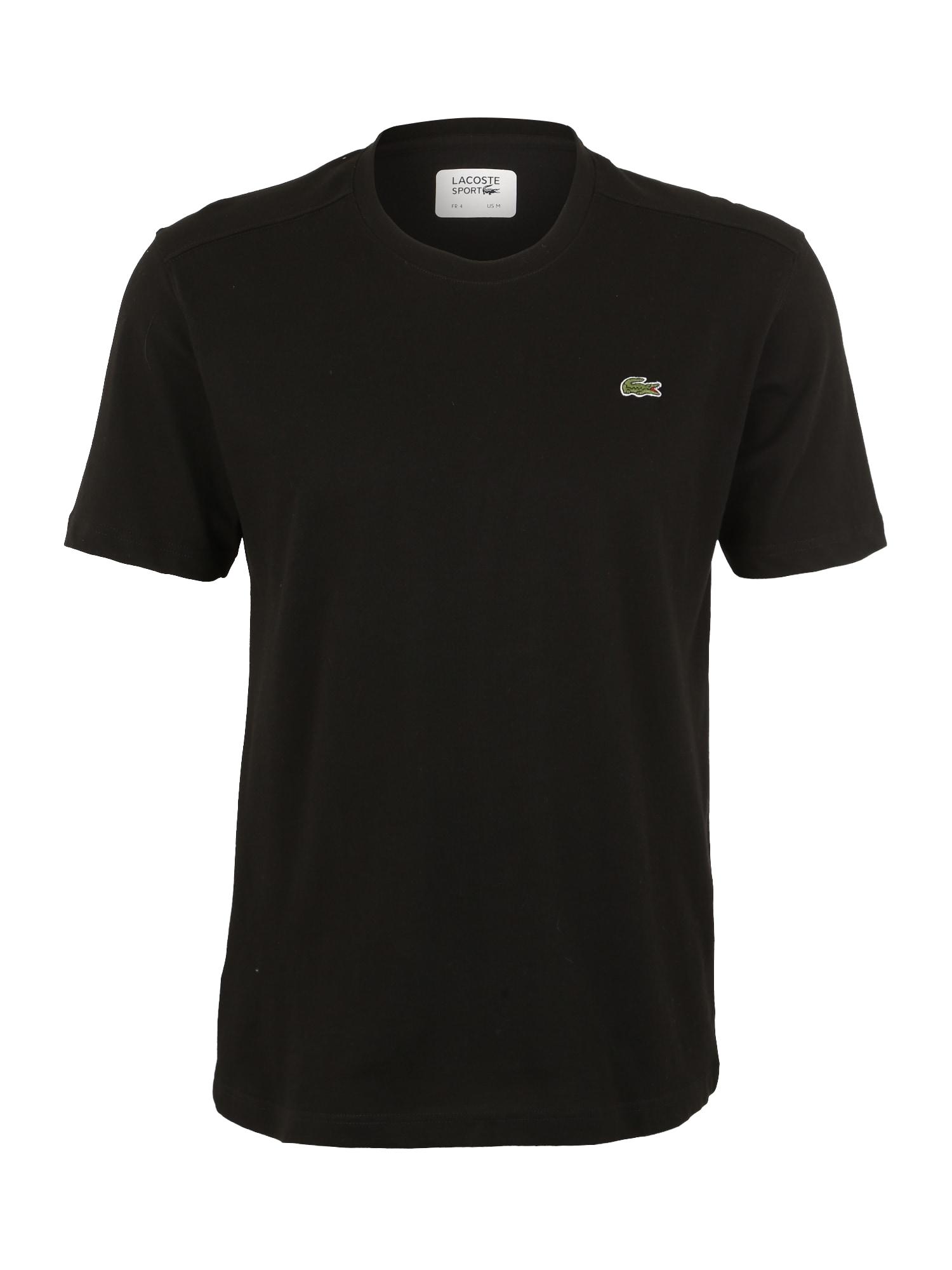 Lacoste Sport Sportiniai marškinėliai juoda