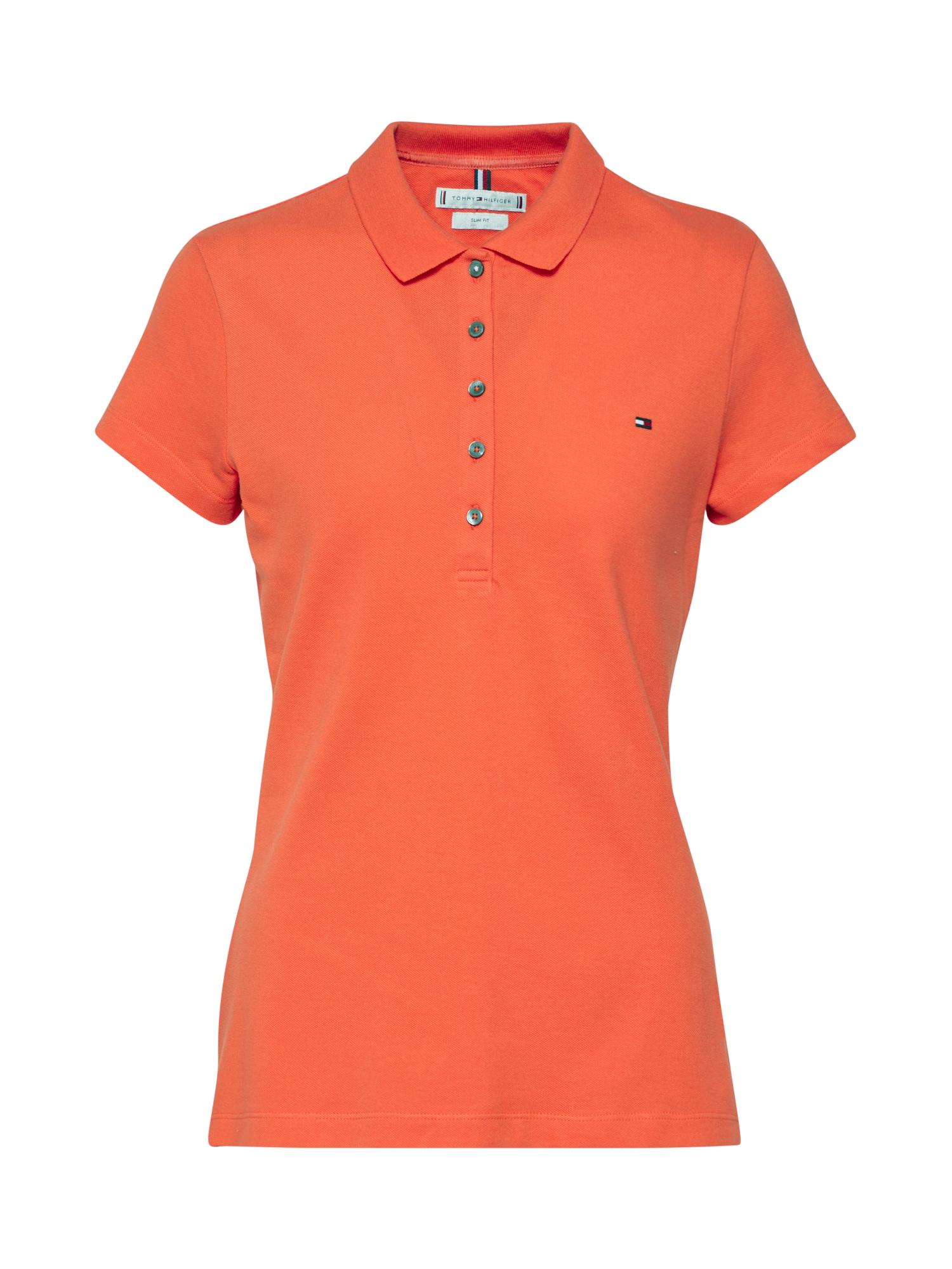 TOMMY HILFIGER Marškinėliai oranžinė