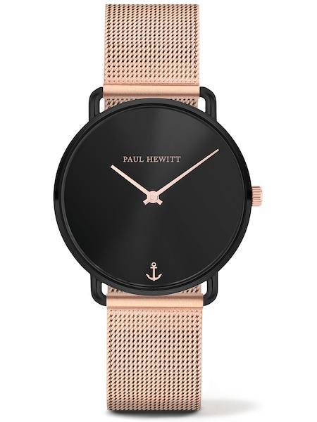 Uhren für Frauen - Paul Hewitt Uhr rosegold schwarz  - Onlineshop ABOUT YOU