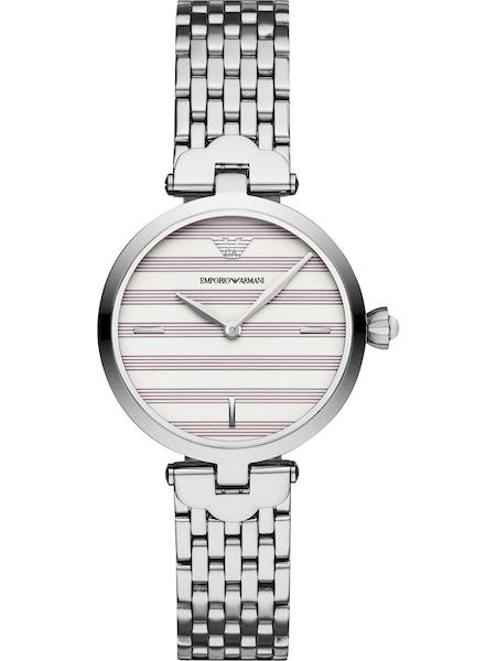 Uhren für Frauen - Emporio Armani Damenuhr pastelllila silber weiß  - Onlineshop ABOUT YOU