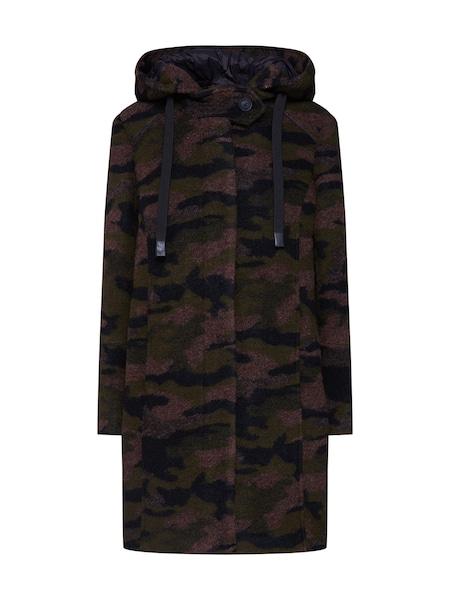 Jacken für Frauen - ESPRIT Mantel 'Camou Coat' oliv merlot schwarz  - Onlineshop ABOUT YOU