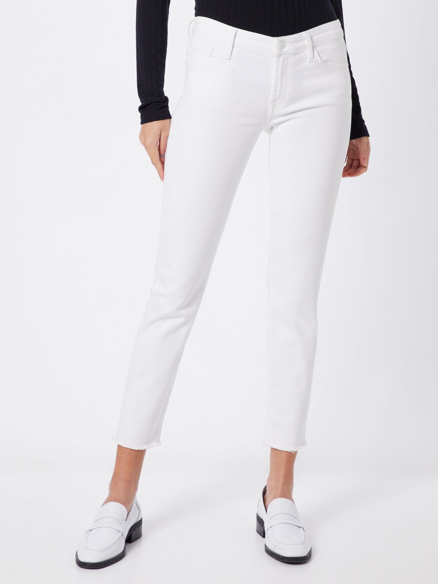 7 for all mankind Jeans 'PYPER CROP UNROLLED SLIM ILLUSION'  vit denim