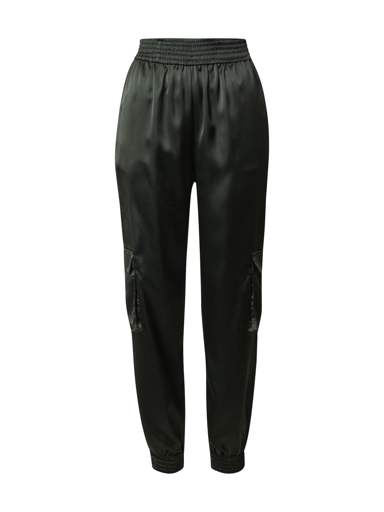 LeGer by Lena Gercke Laisvo stiliaus kelnės 'Leni' tamsiai žalia