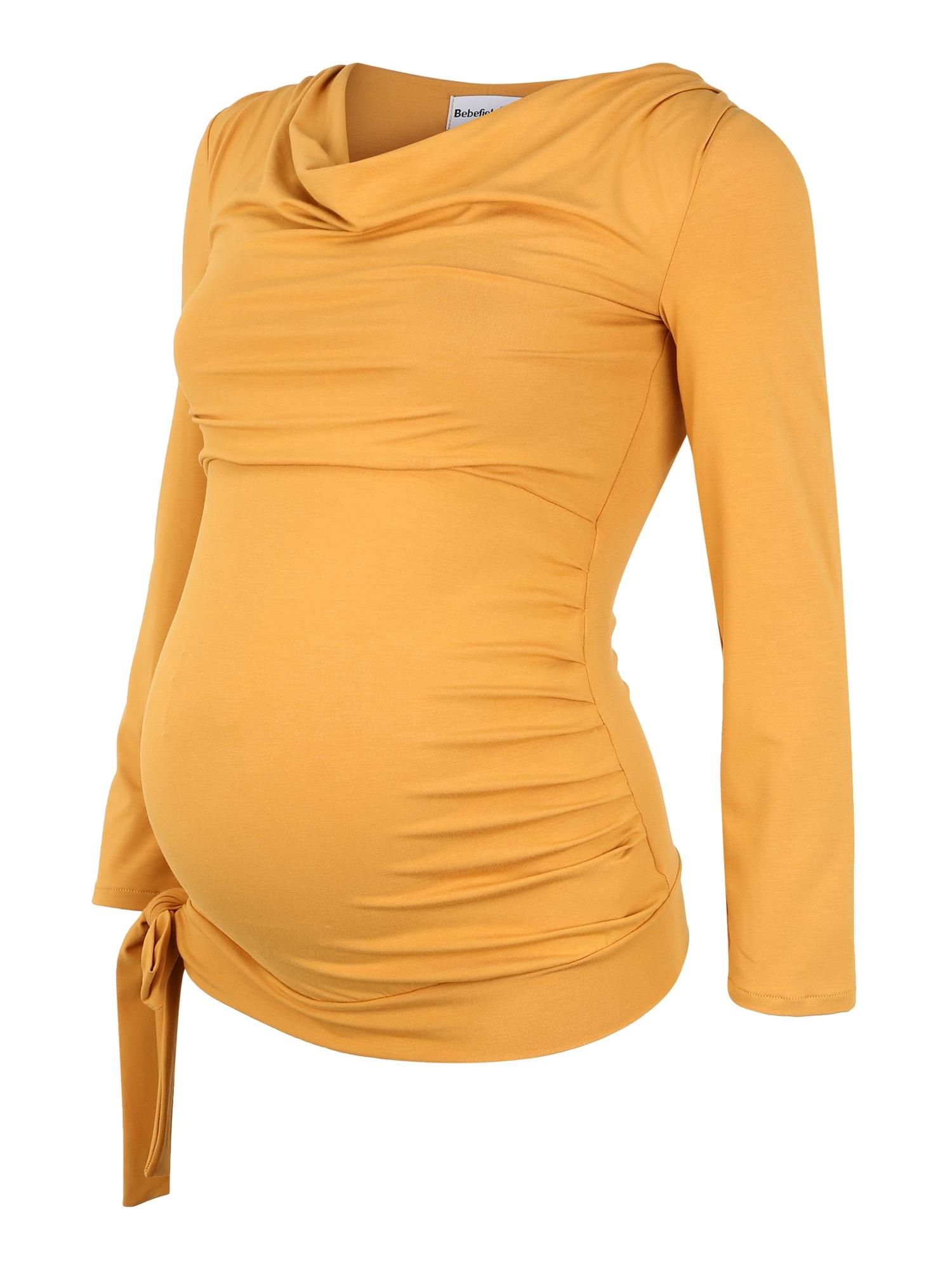 Bebefield Marškinėliai rusvai oranžinė