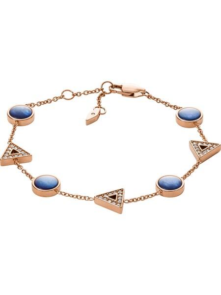 Armbaender für Frauen - FOSSIL Armband blau rosegold  - Onlineshop ABOUT YOU