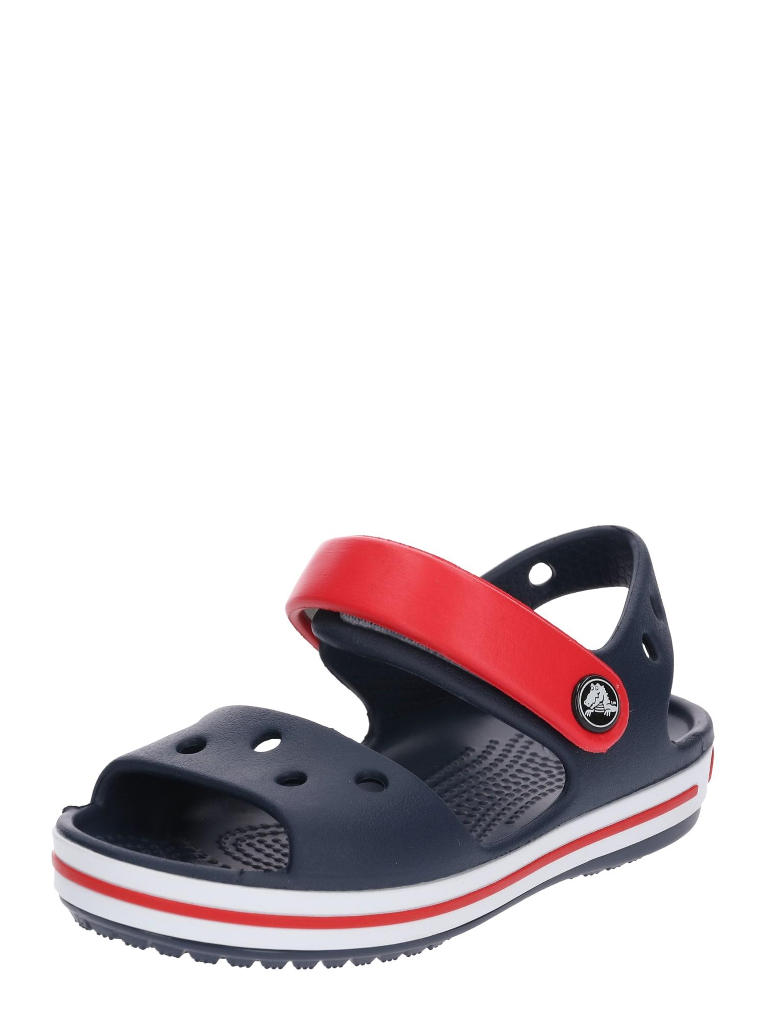 Crocs Atviri batai mėlyna / raudona
