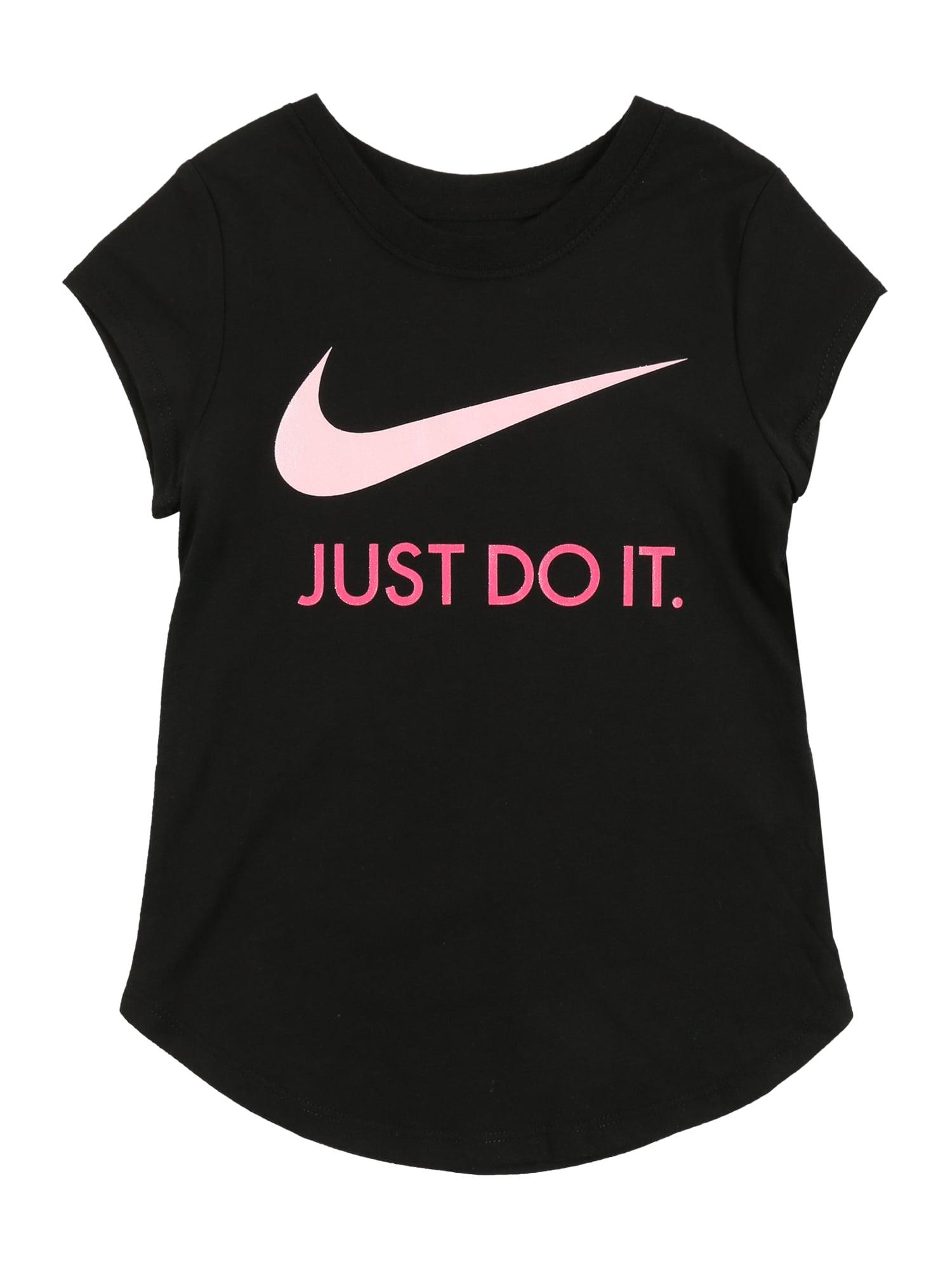 NIKE Sportiniai marškinėliai 'SWOOSH JDI S/S TEE' juoda