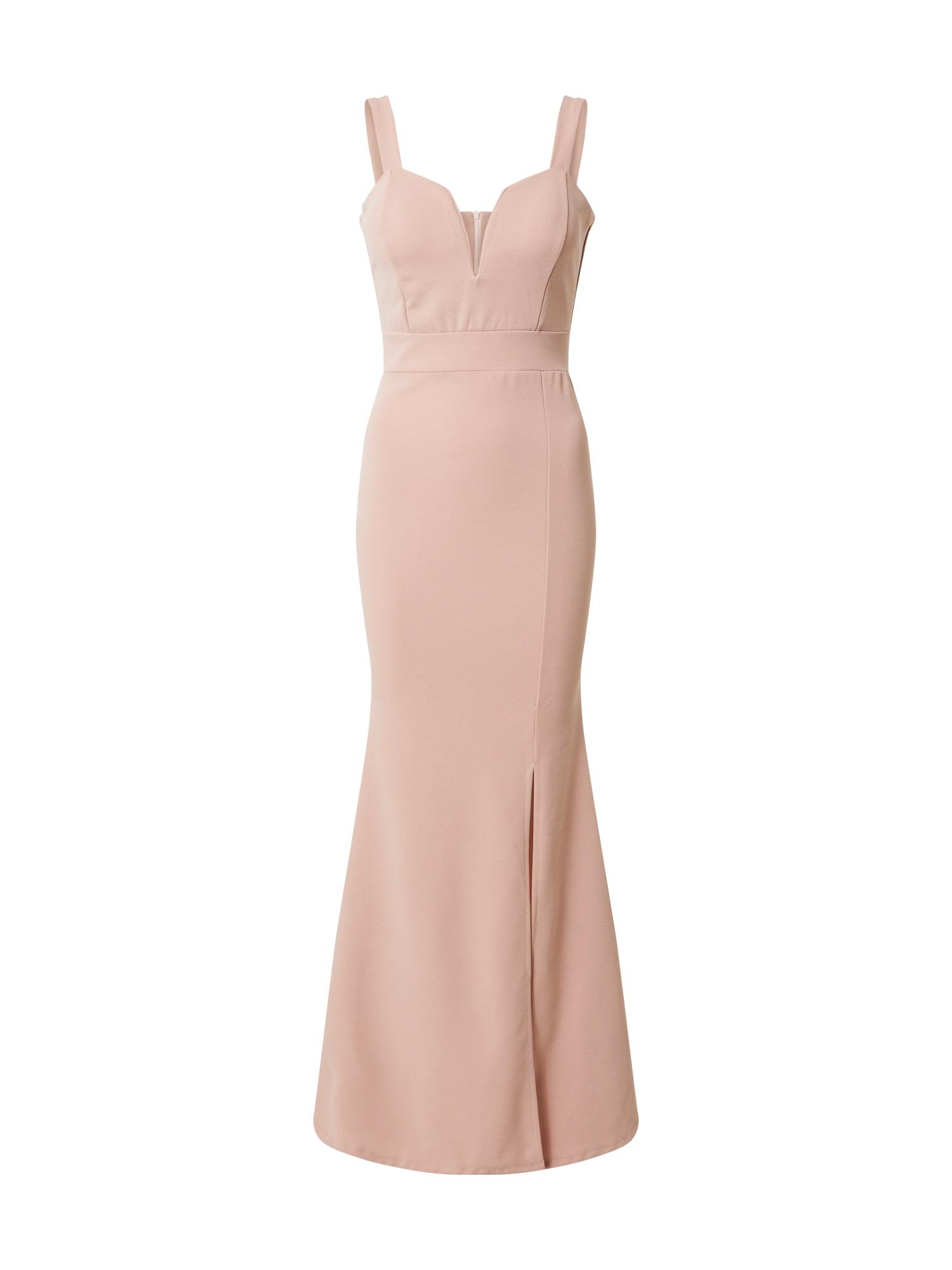 WAL G. Vakarinė suknelė pudros spalva