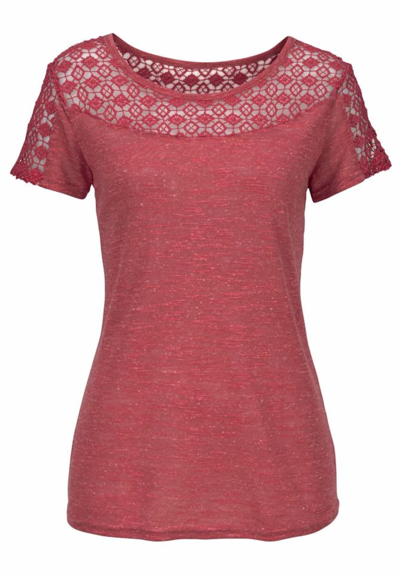 VIVANCE Marškinėliai rūdžių raudona