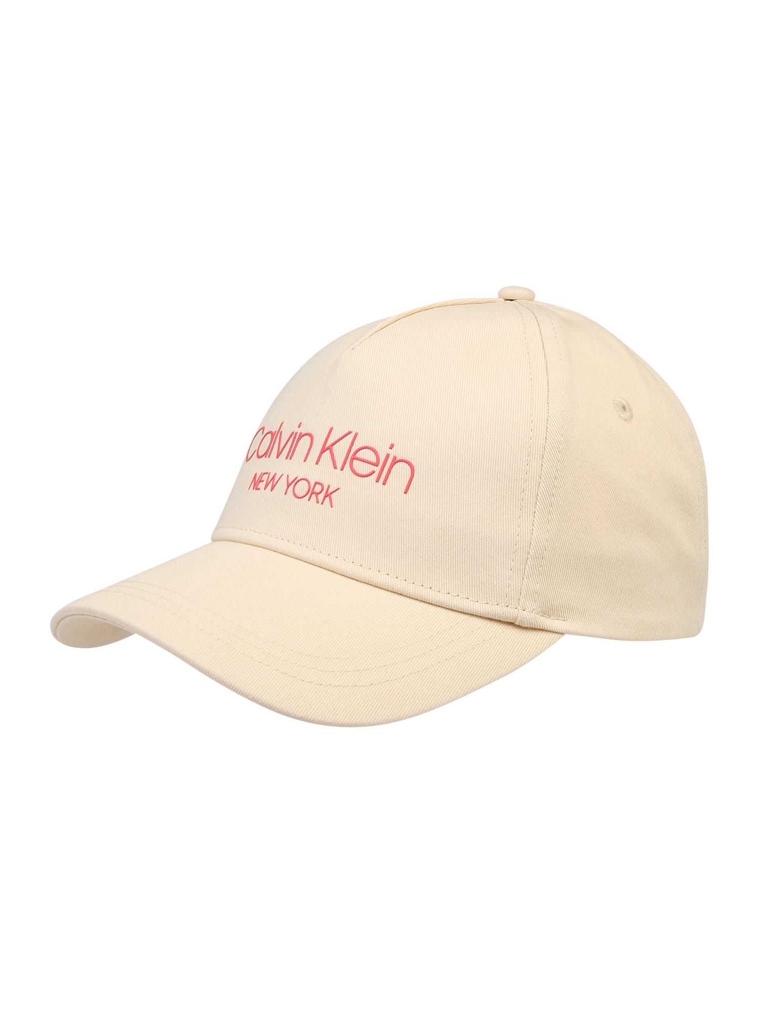Calvin Klein Kepurė 'NY BB' smėlio