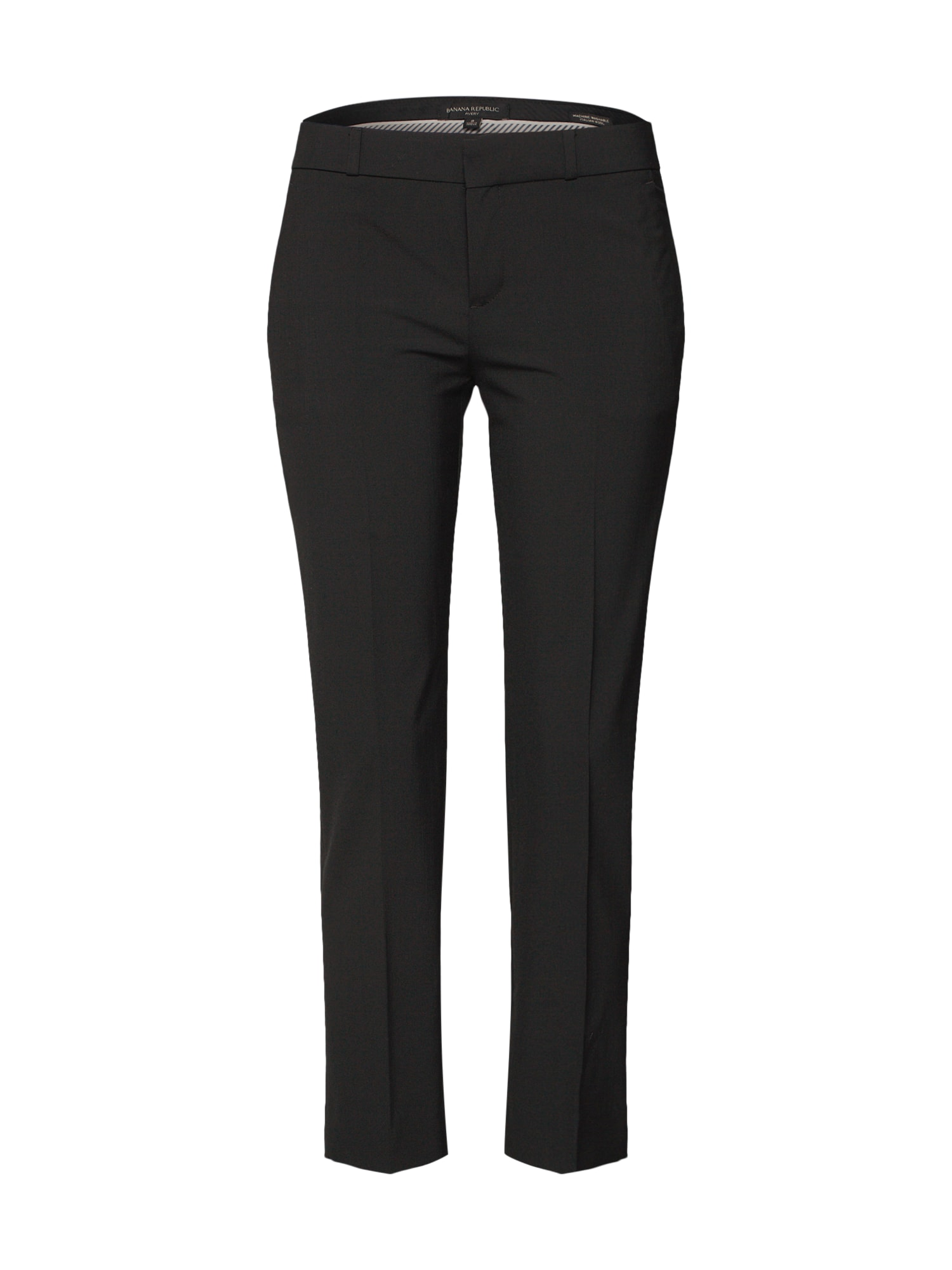 Banana Republic Kelnės su kantu 'AVERY WASHABLE LWW BLACK PANT' juoda