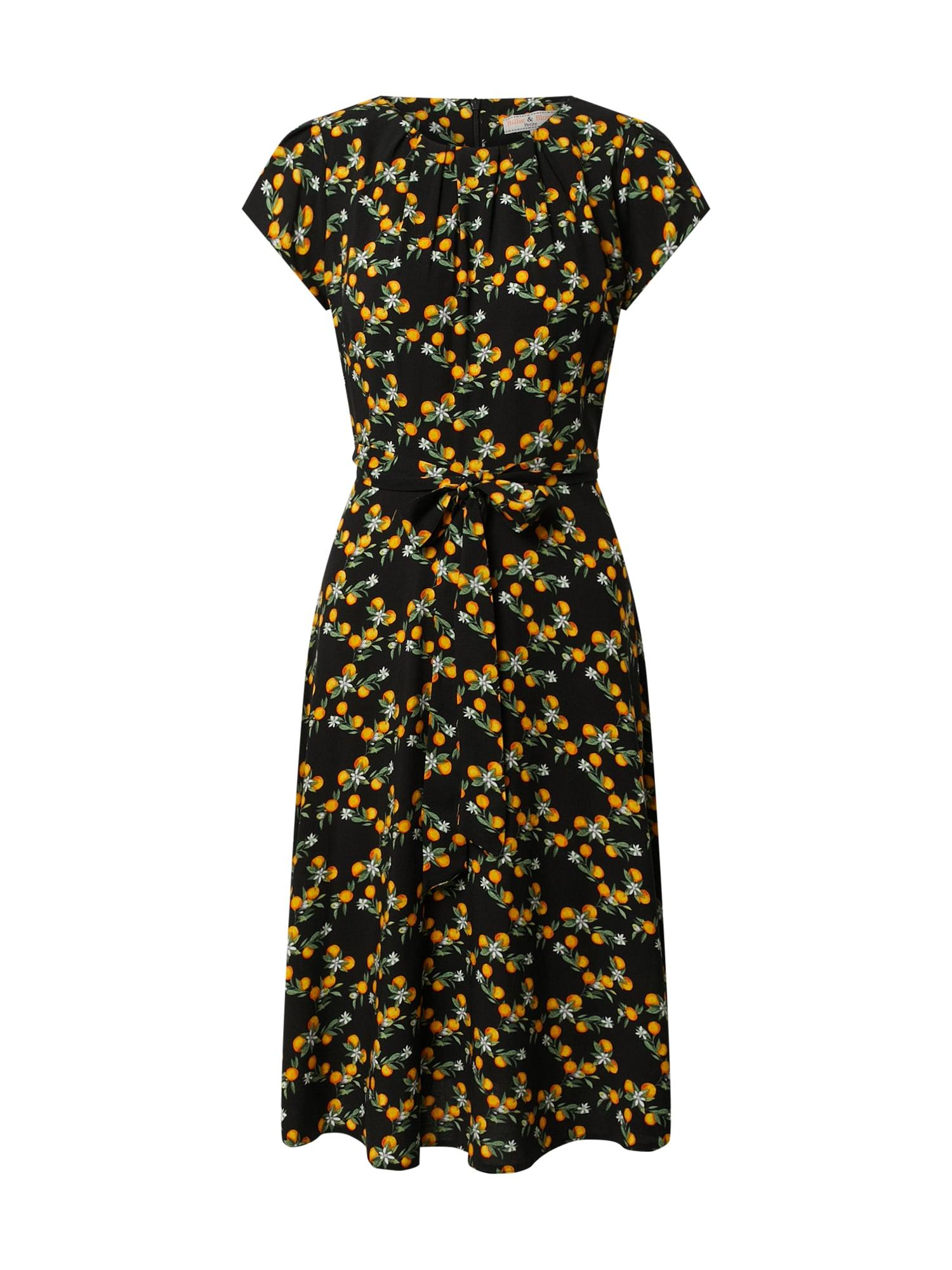 Dorothy Perkins Suknelė oranžinė / juoda