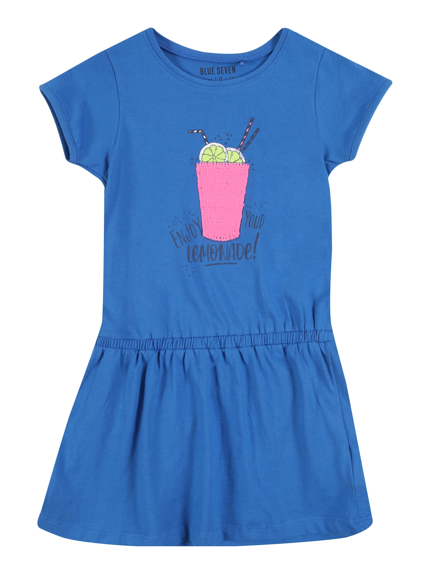 BLUE SEVEN Suknelė geltona / mėlyna / rožinė