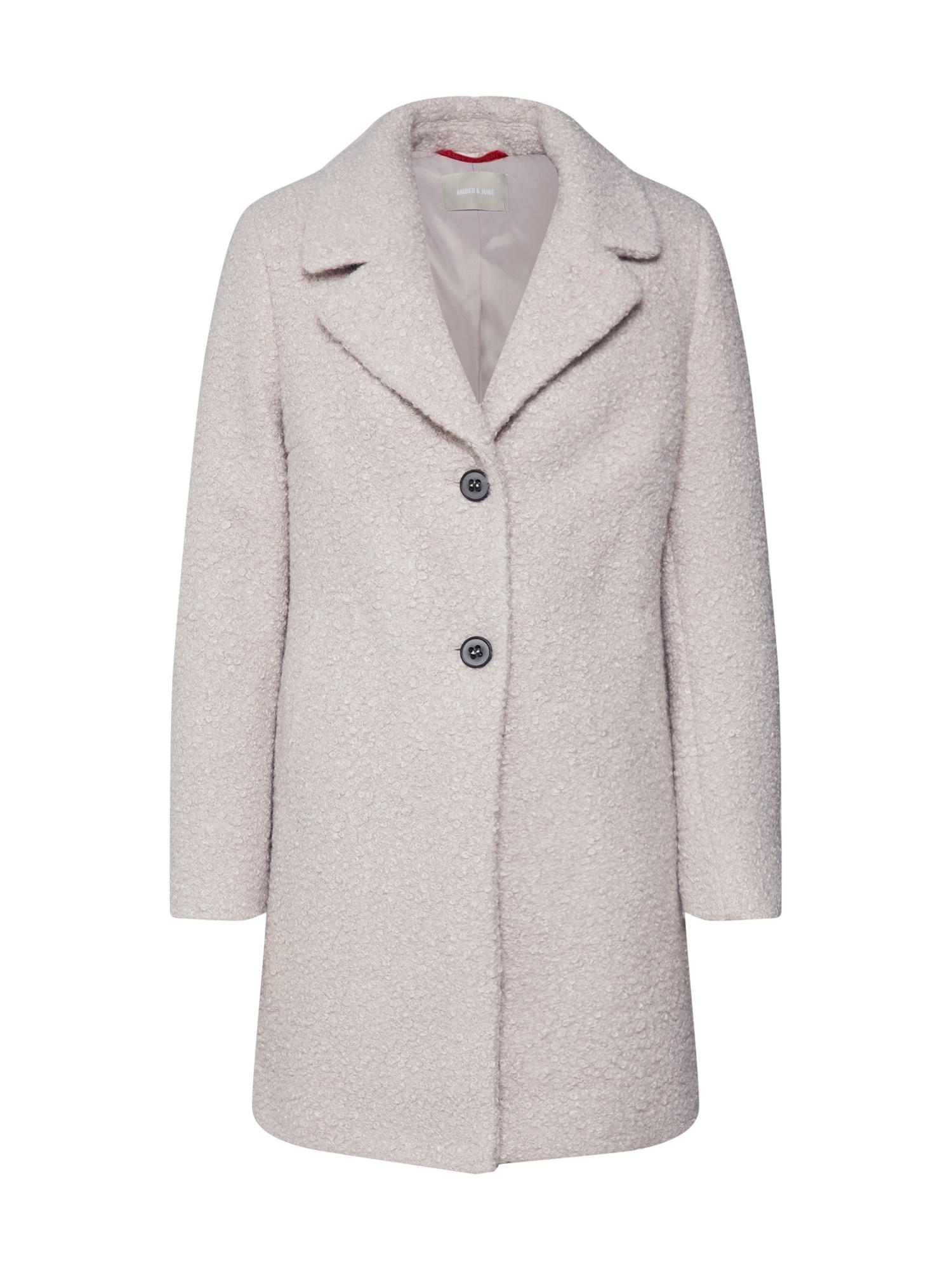 Amber & June Rudeninis-žieminis paltas pilka