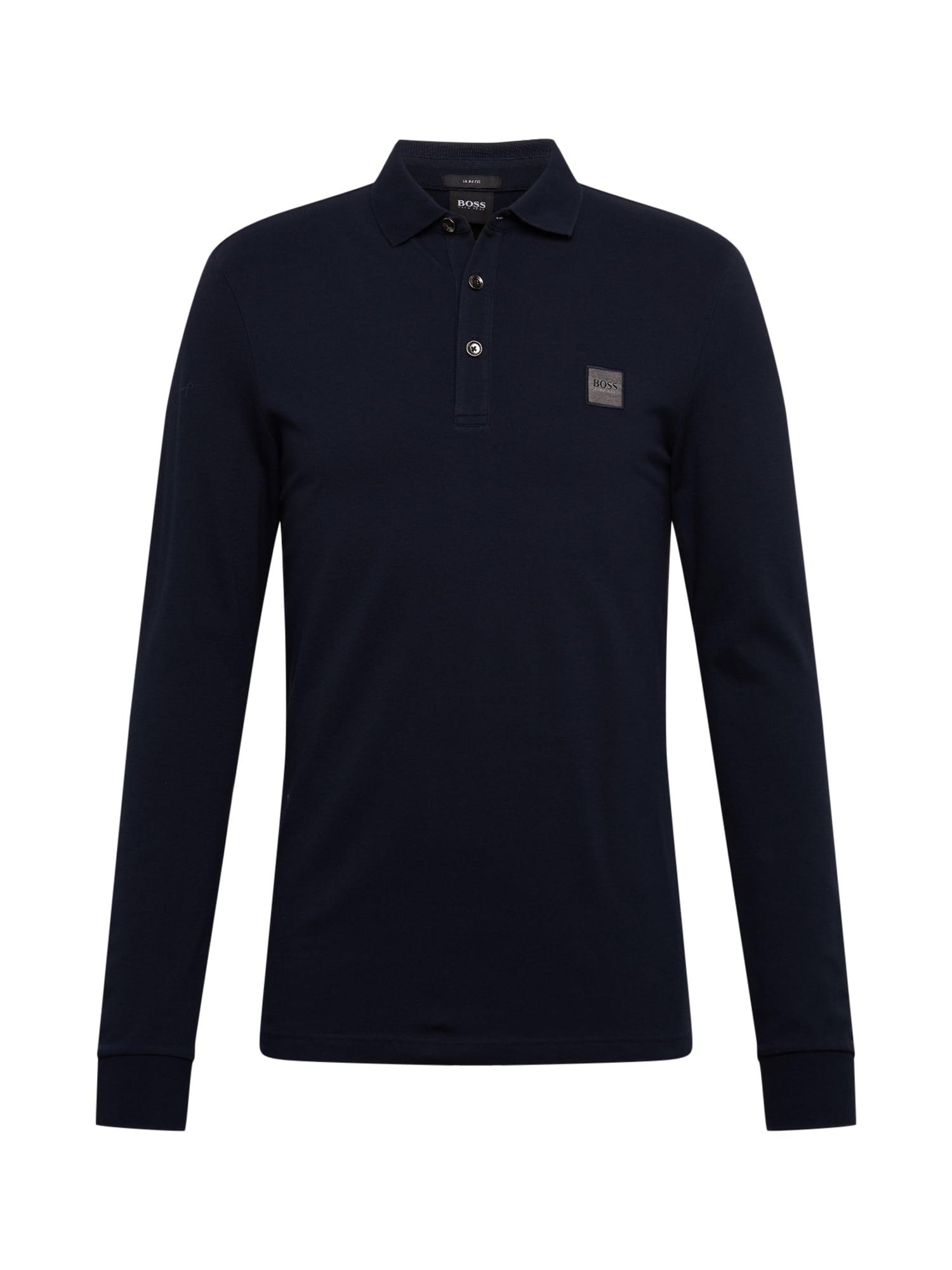 BOSS Marškinėliai 'Passerby' mėlyna