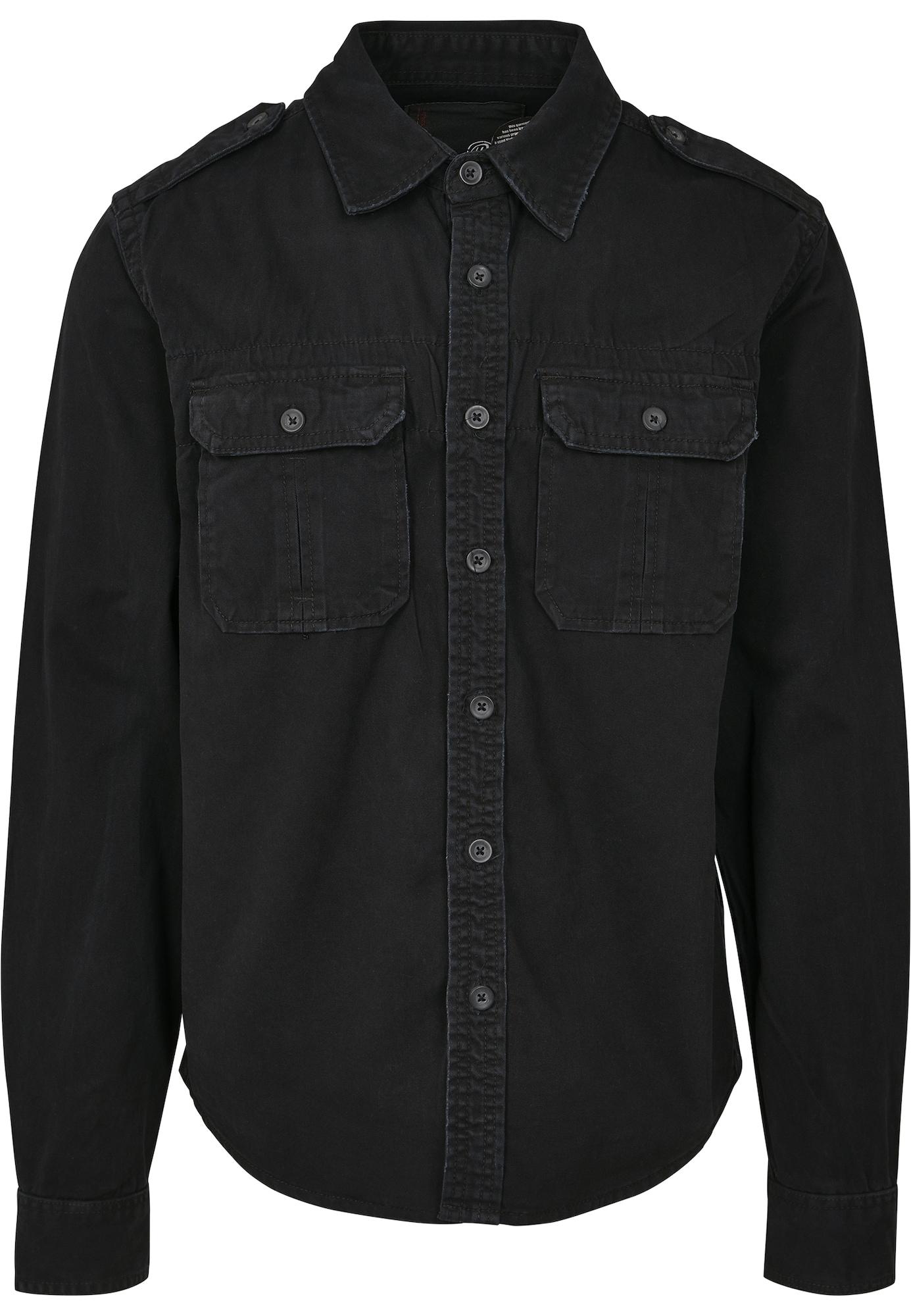 Brandit Marškiniai juoda