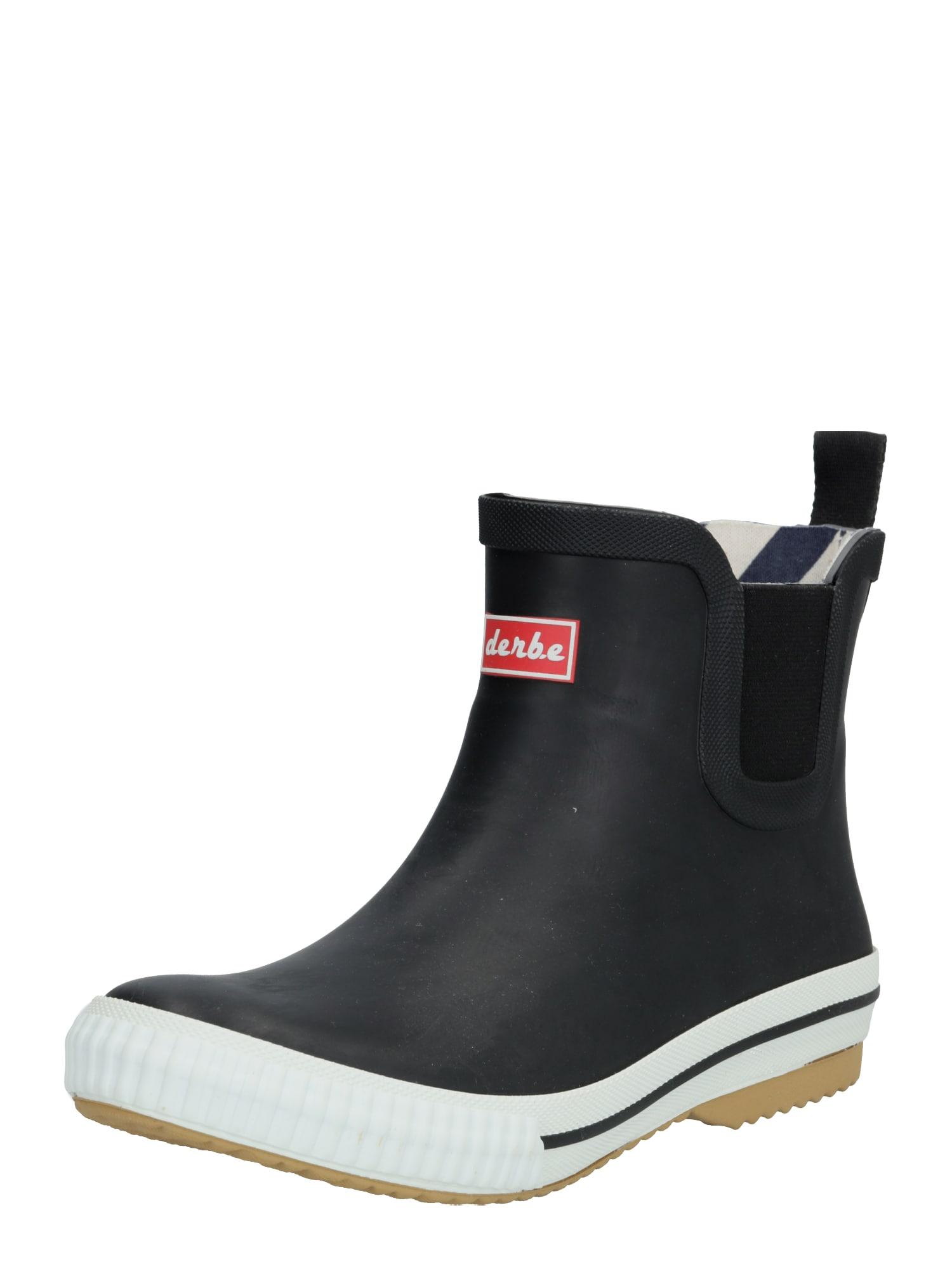 Derbe Guminiai batai 'Wattpuuschen' juoda