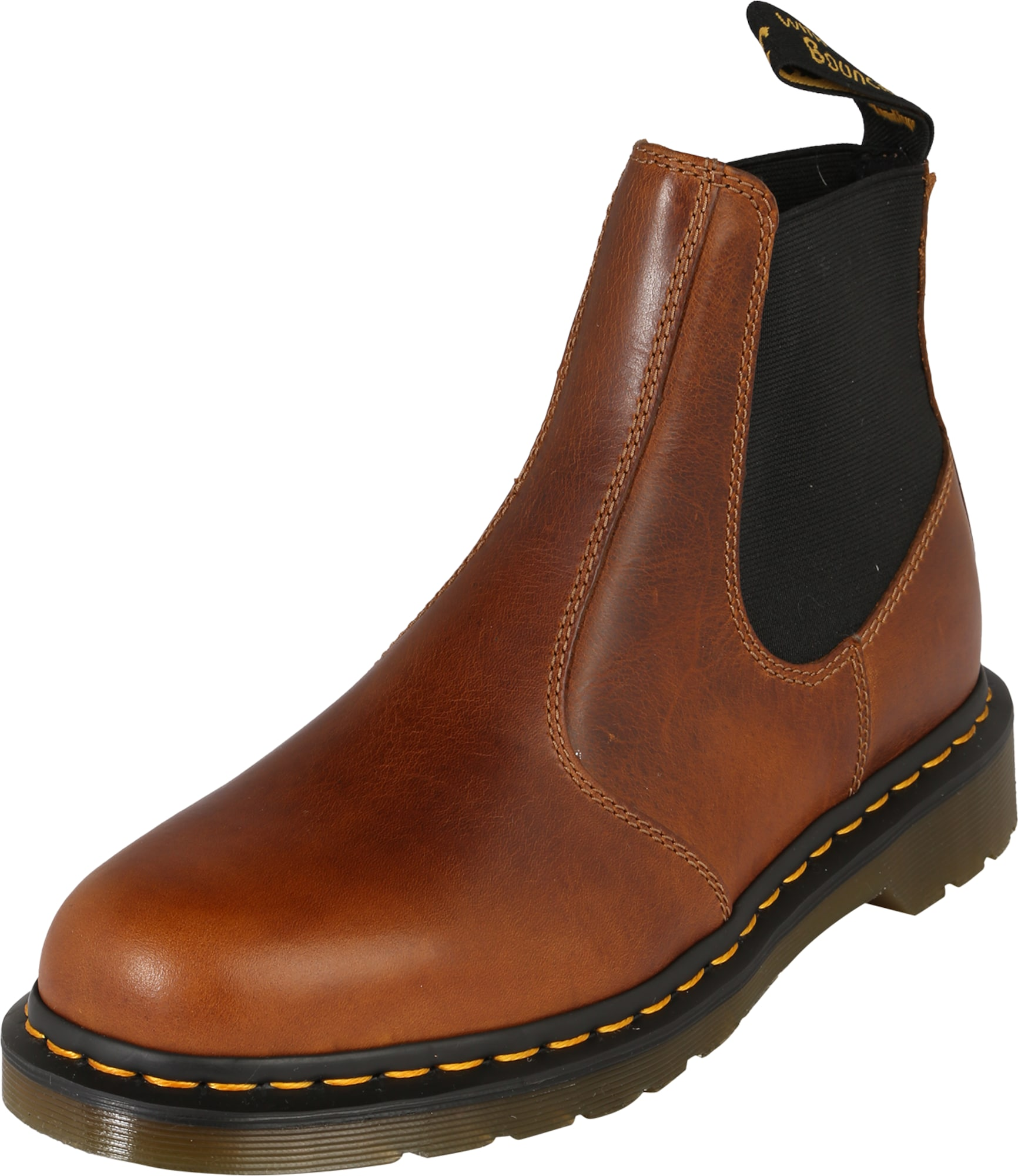 dr martens chelsea boot aus leder 39 hardy 39 in braun about you. Black Bedroom Furniture Sets. Home Design Ideas