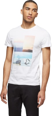 BOSS ORANGE T-Shirt mit Foto-Print 'Tacket 3'