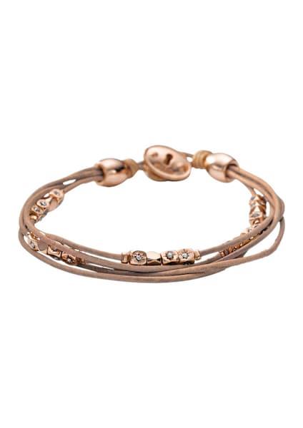 Armbaender für Frauen - FOSSIL Armband hellbraun rosegold  - Onlineshop ABOUT YOU