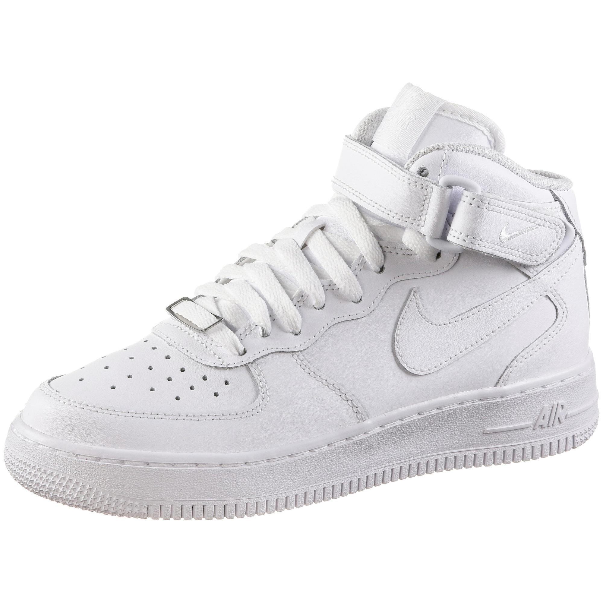 Nike Sportswear Tenisky 'Air Force Mid'  biela