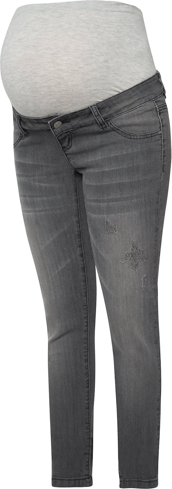 MAMALICIOUS Džinsai pilko džinso