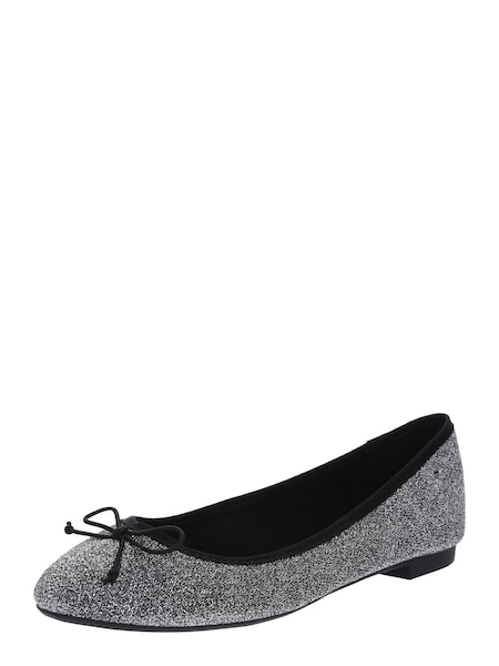 Ballerinas - Ballerina 'Bee' › ONLY › silber  - Onlineshop ABOUT YOU
