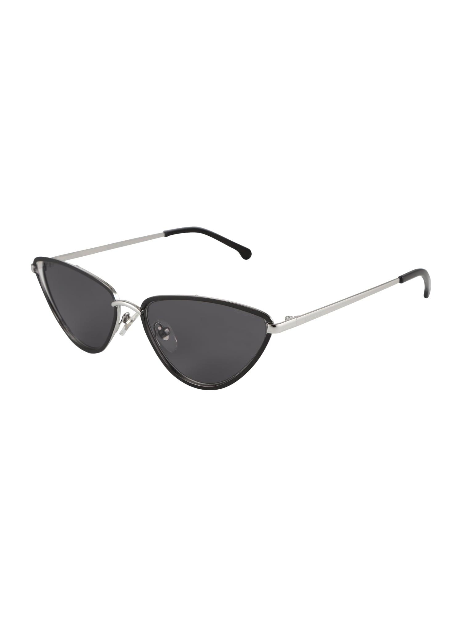 Sluneční brýle GIGI černá stříbrná Komono
