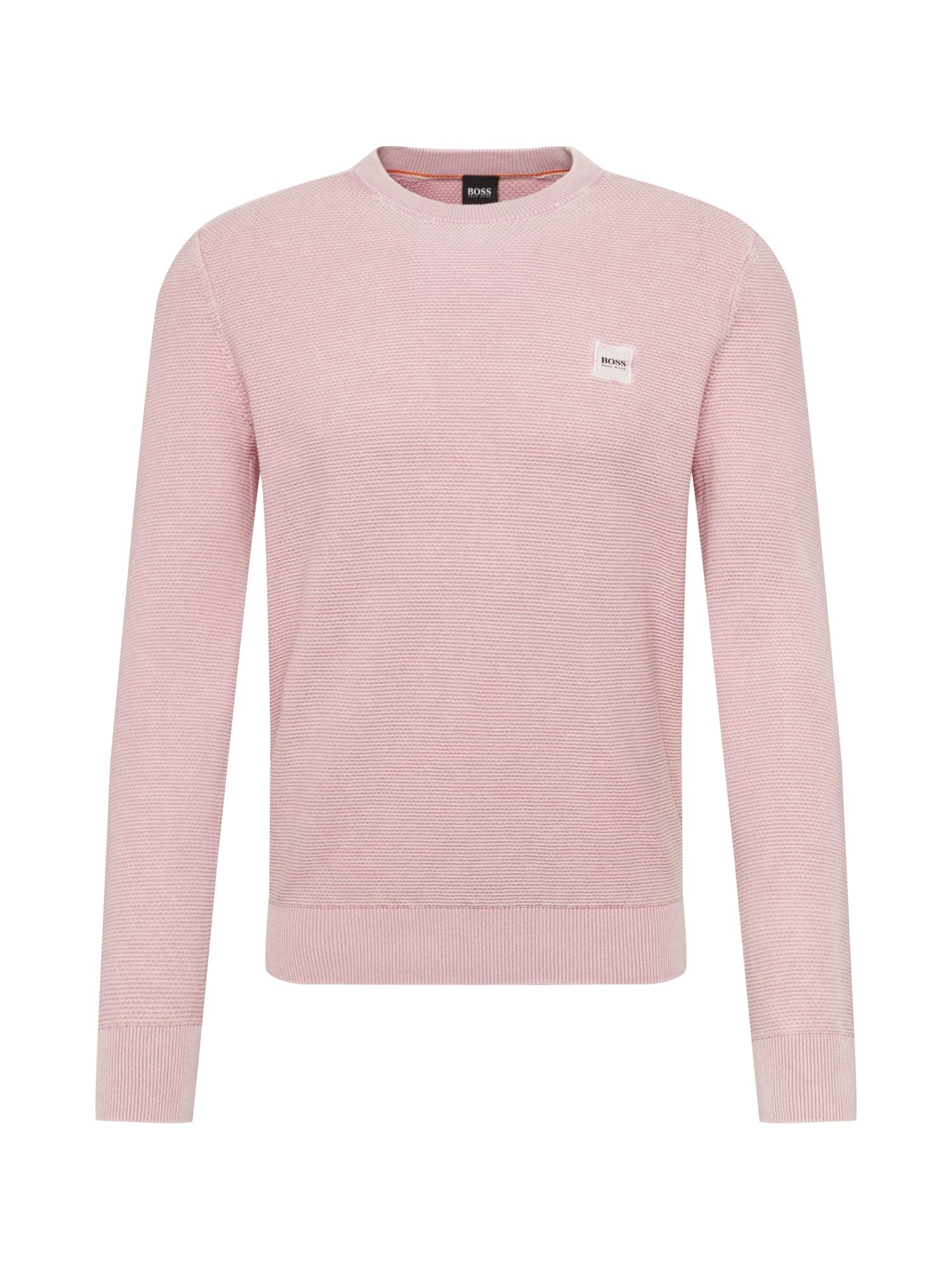 BOSS Pulóver 'Ampagne'  rózsaszín