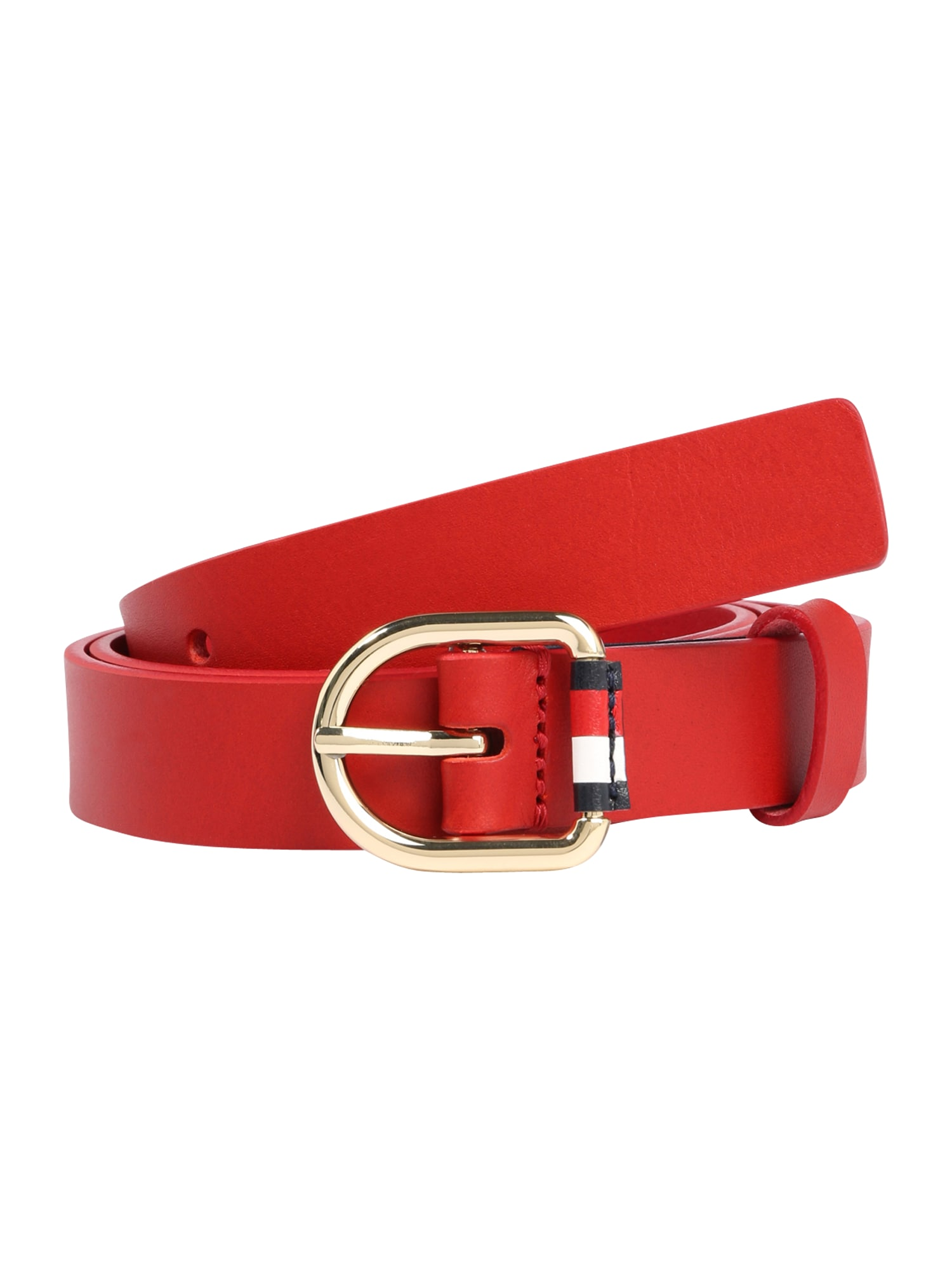 TOMMY HILFIGER Diržas 'Corporate Belt 2.5' raudona