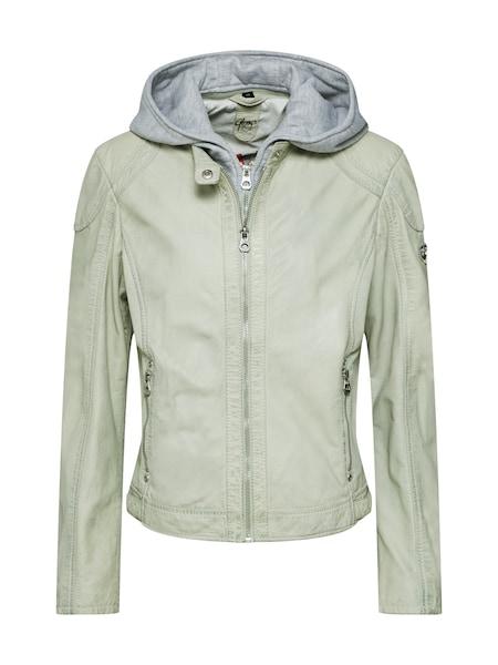 Jacken für Frauen - Gipsy Lederjacke 'Angy LAMAS' hellgrau mint  - Onlineshop ABOUT YOU