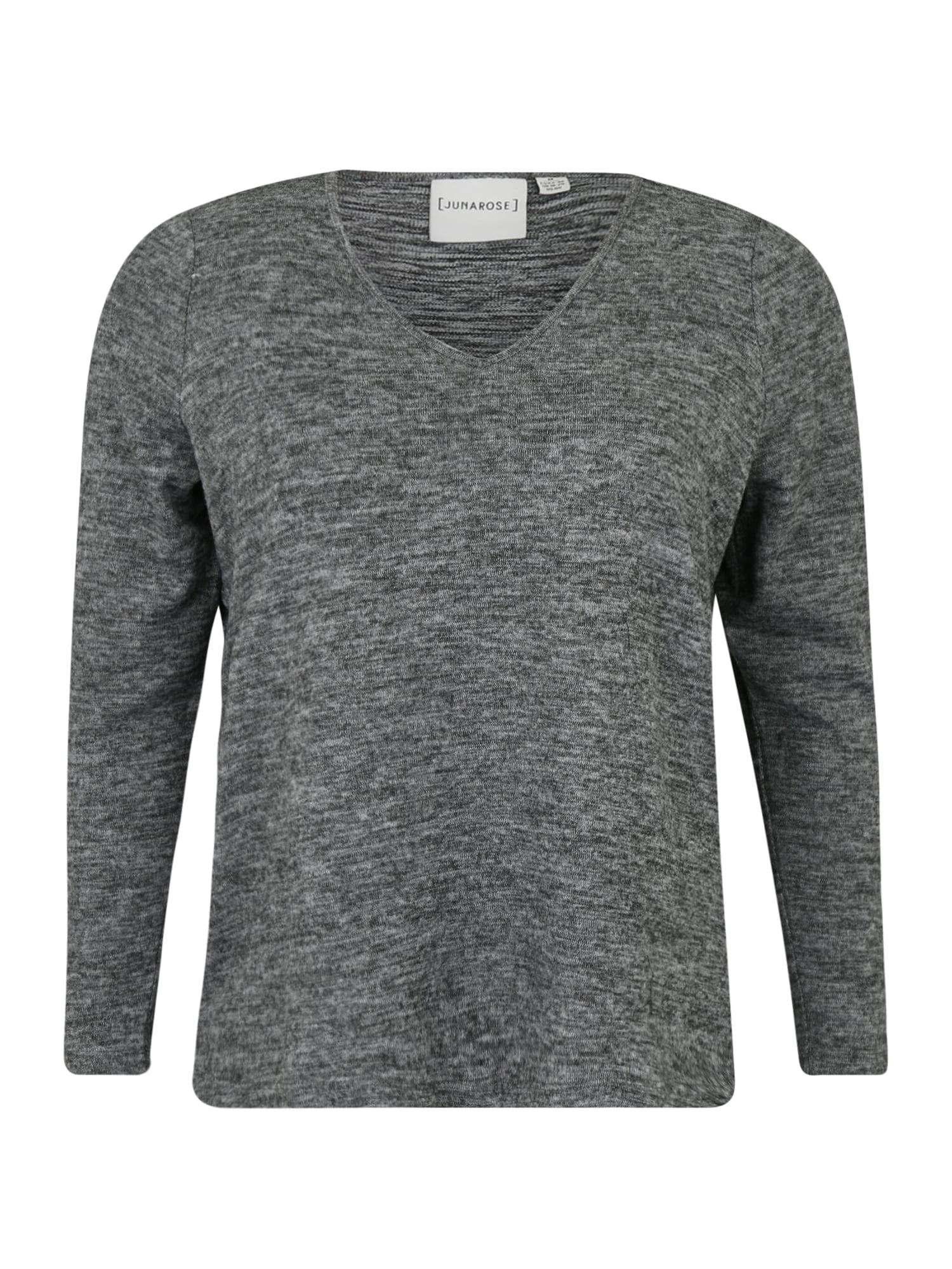 Junarose Marškinėliai 'ASRA' margai pilka
