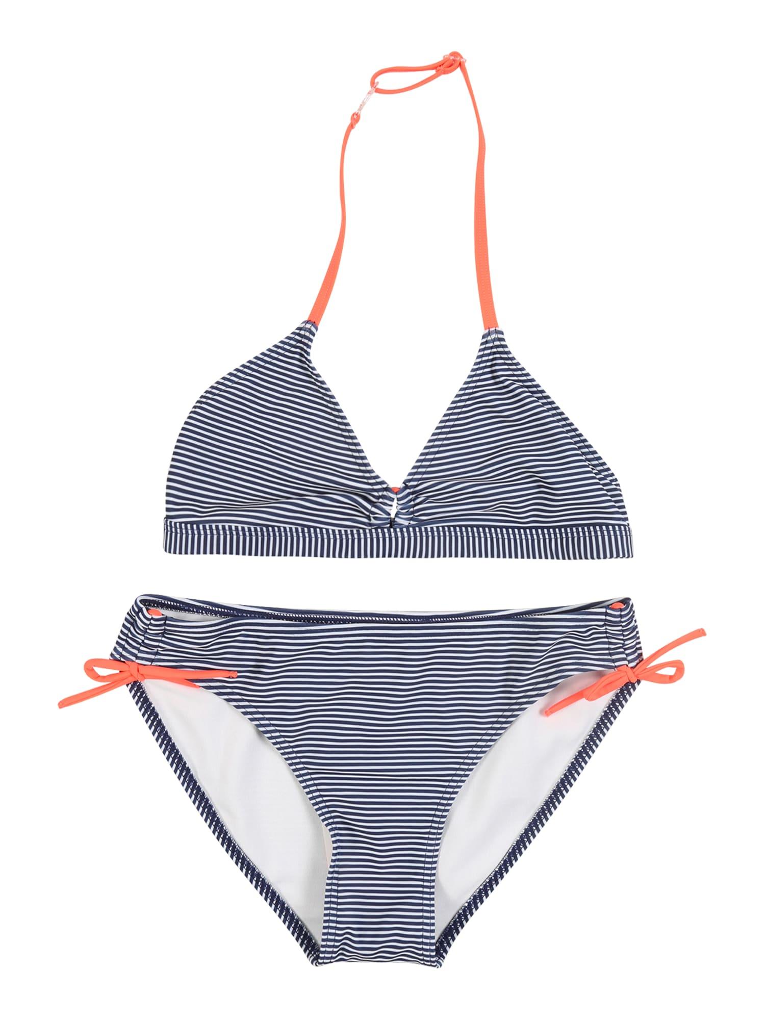 STACCATO Bikiny  námořnická modř / korálová / bílá