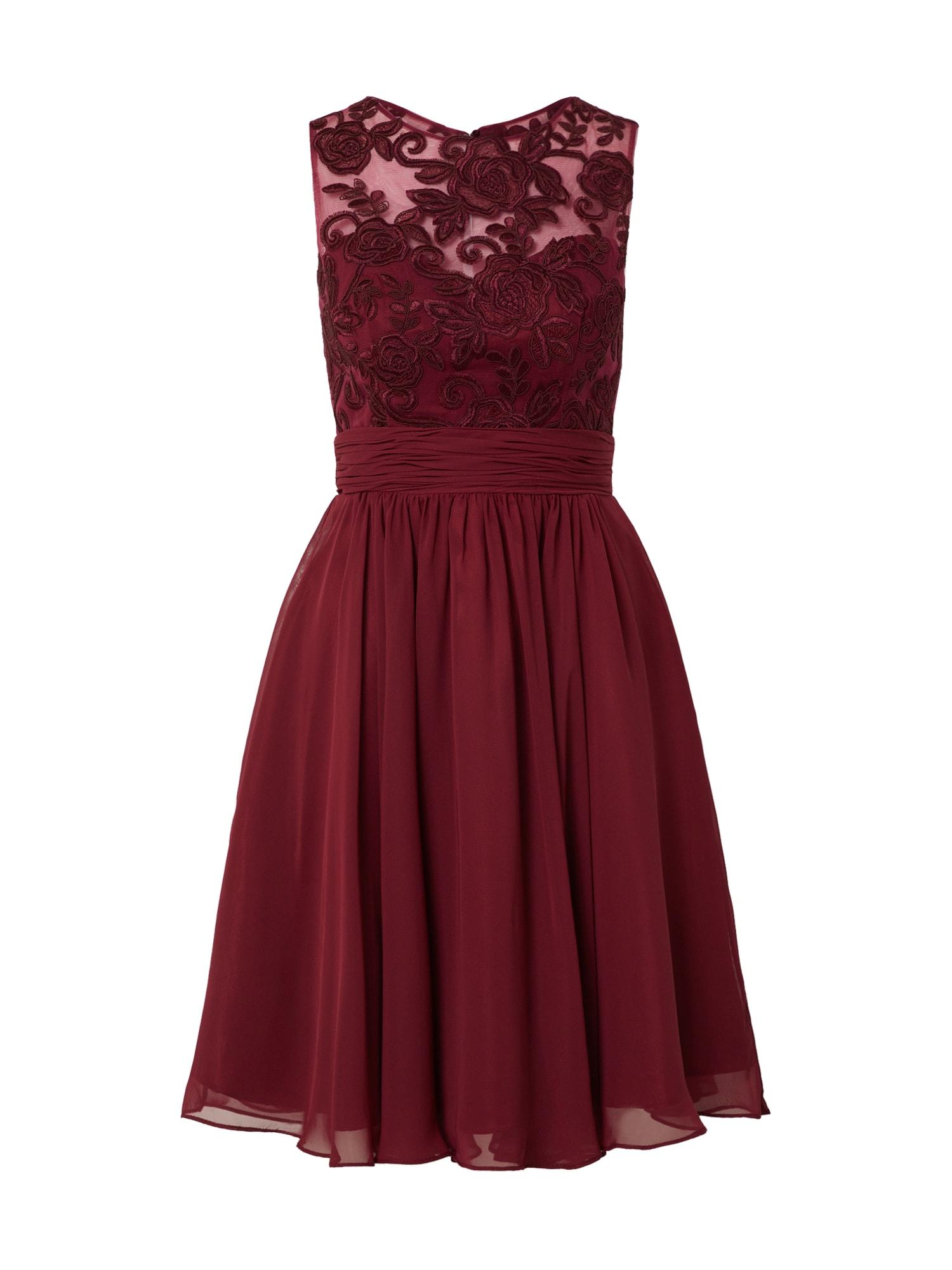 MAGIC NIGHTS Kokteilinė suknelė vyšninė spalva