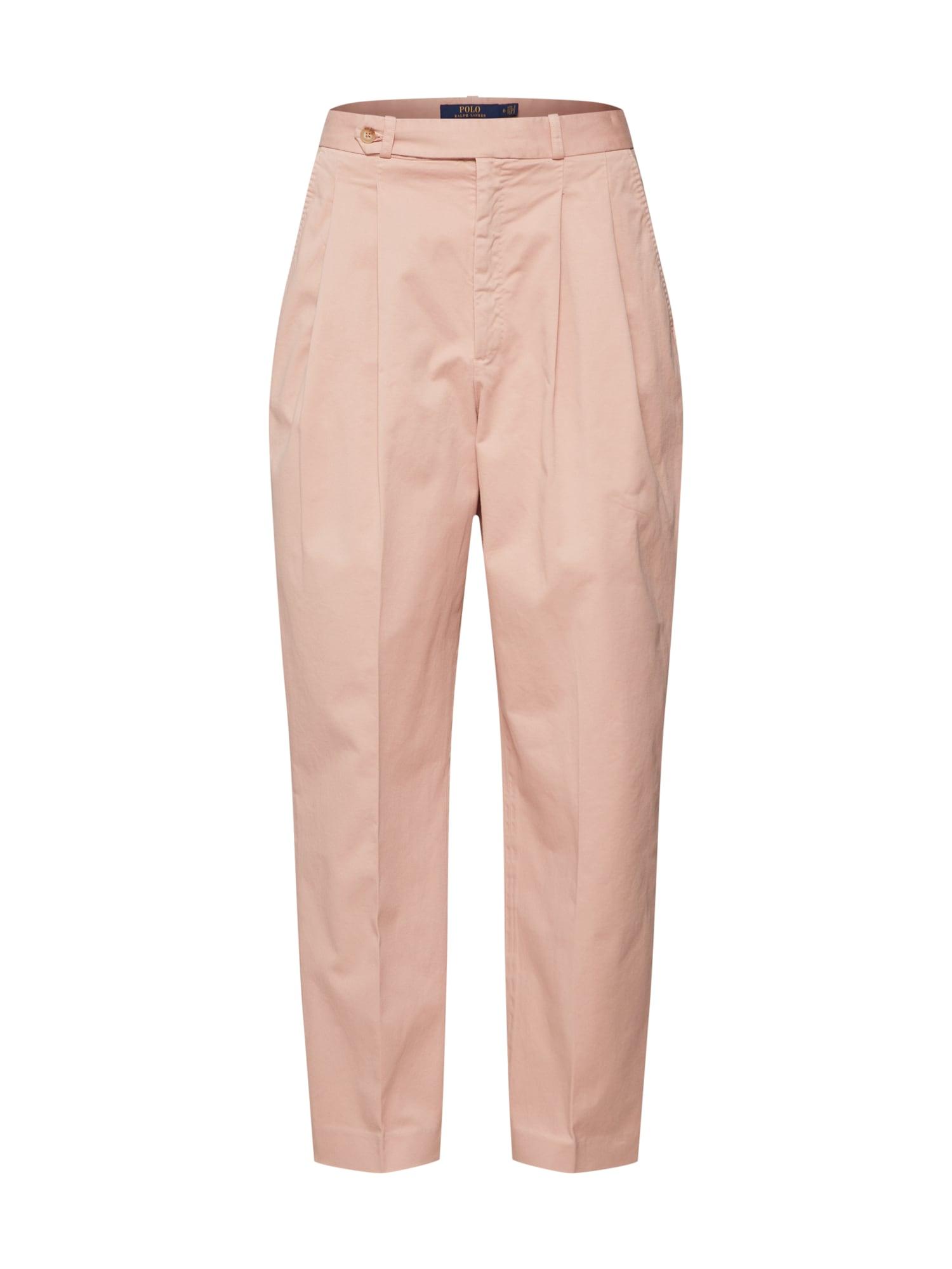 Kalhoty růžová POLO RALPH LAUREN