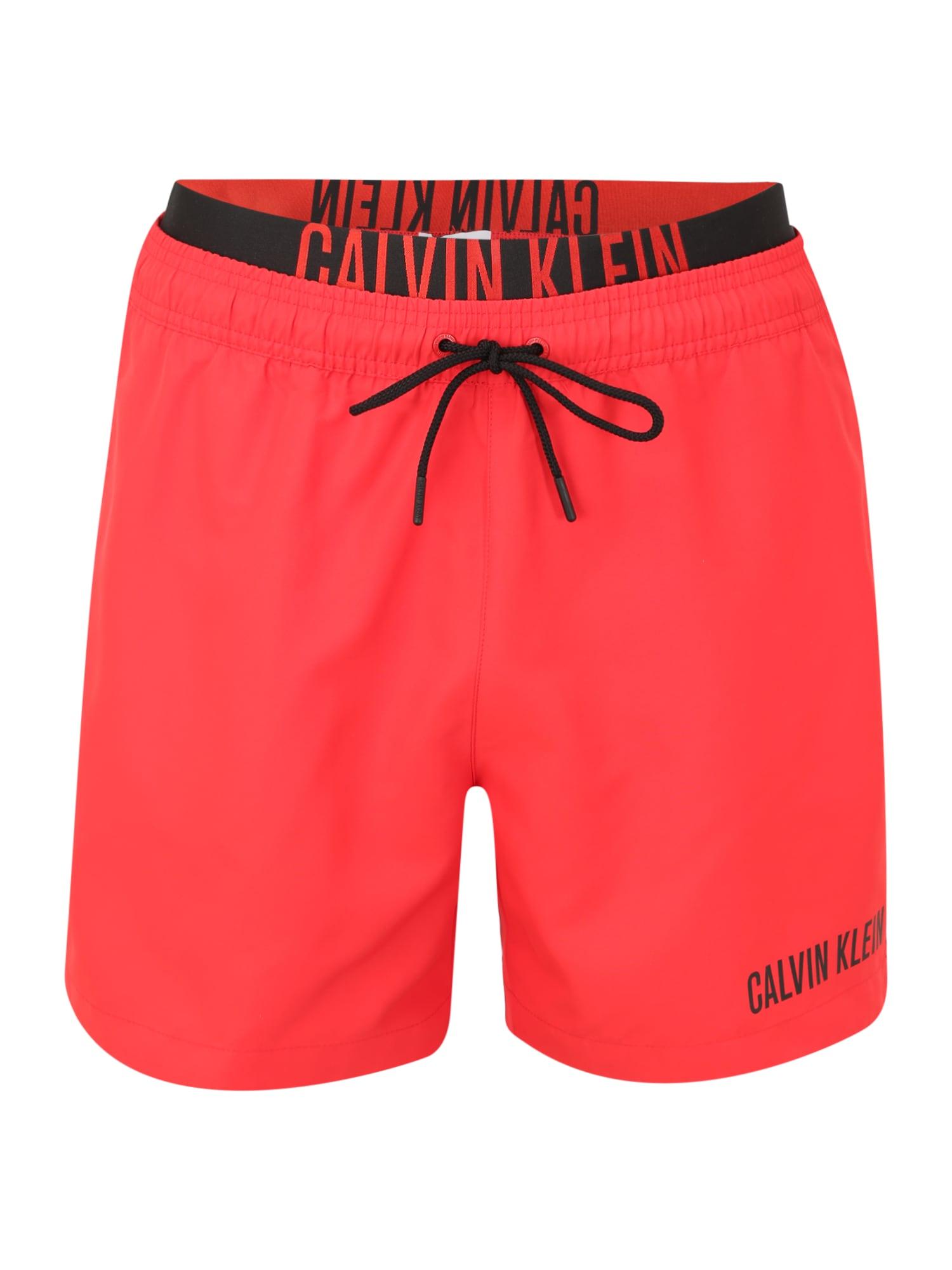 Calvin Klein Swimwear Maudymosi trumpikės raudona